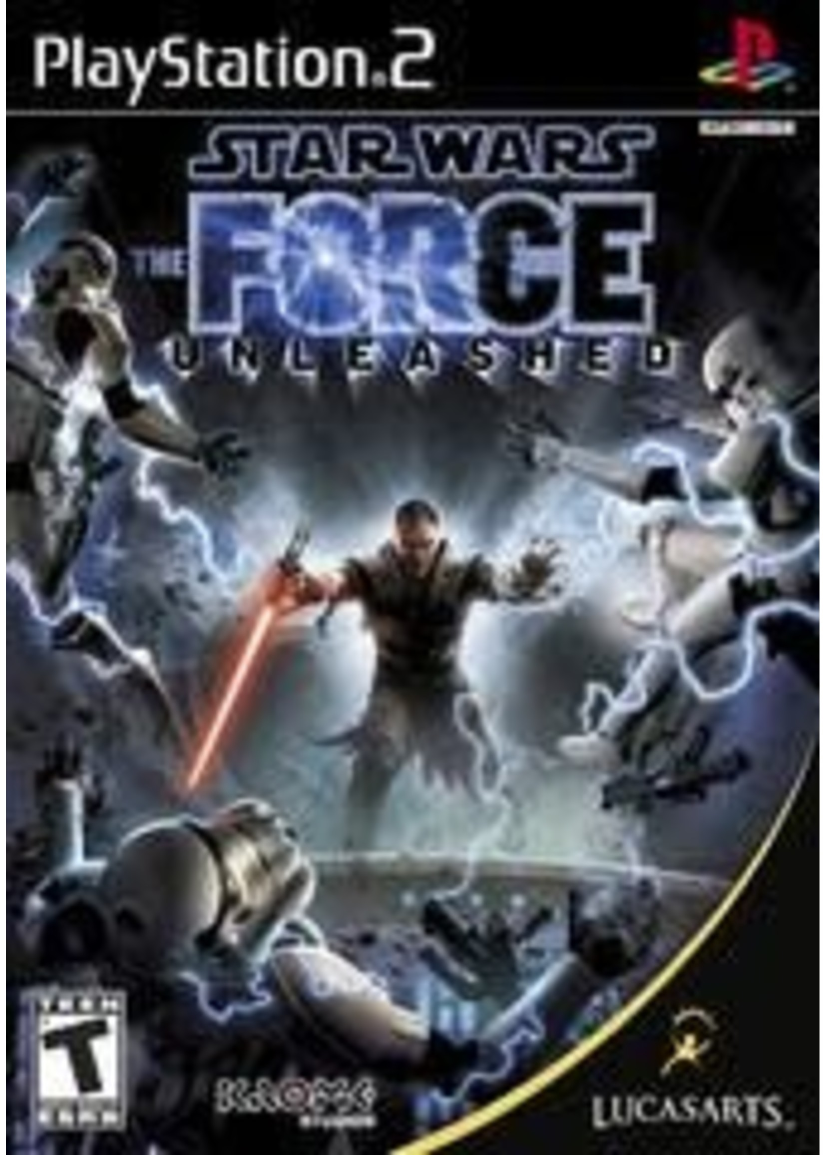 Star Wars The Force Unleashed Playstation 2