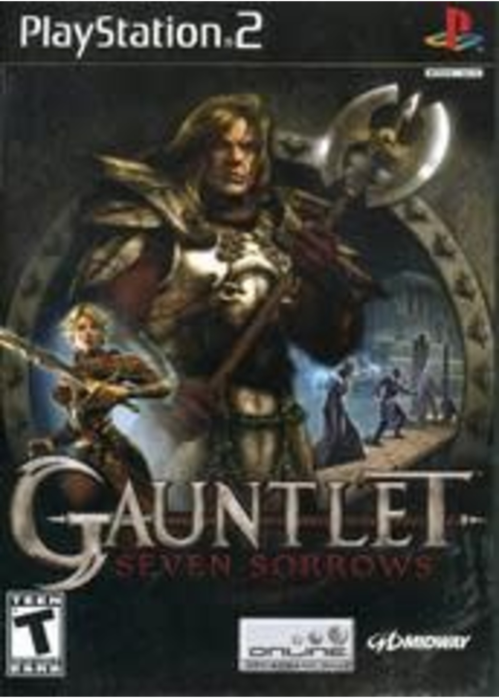 Gauntlet Seven Sorrows Playstation 2