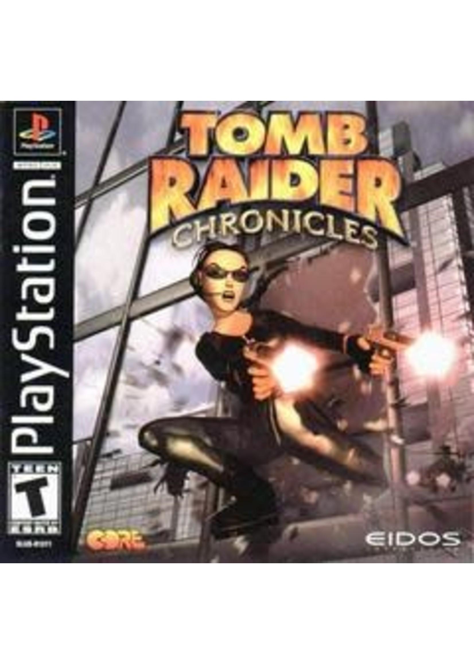 Tomb Raider Chronicles Playstation