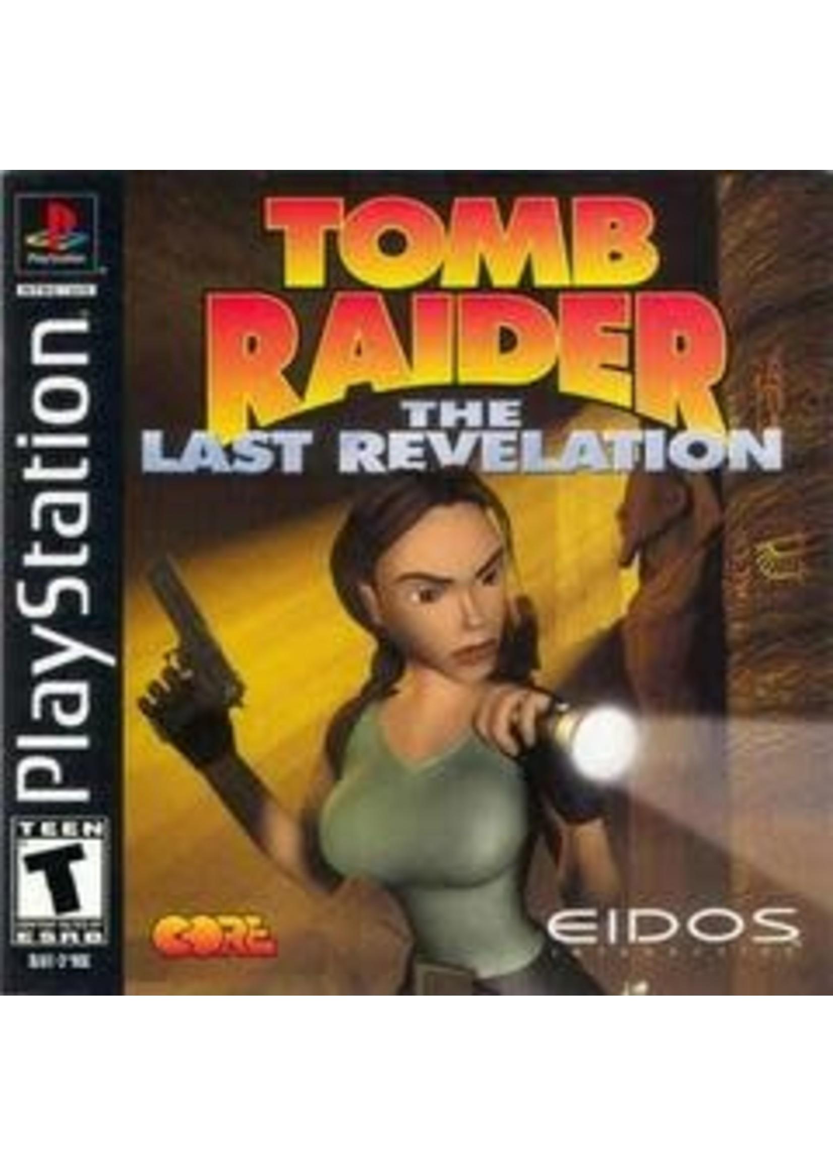 Tomb Raider Last Revelation Playstation