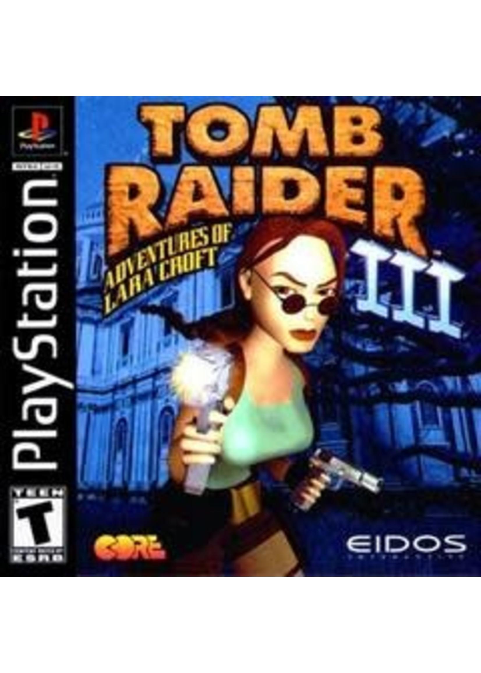 Tomb Raider III Playstation