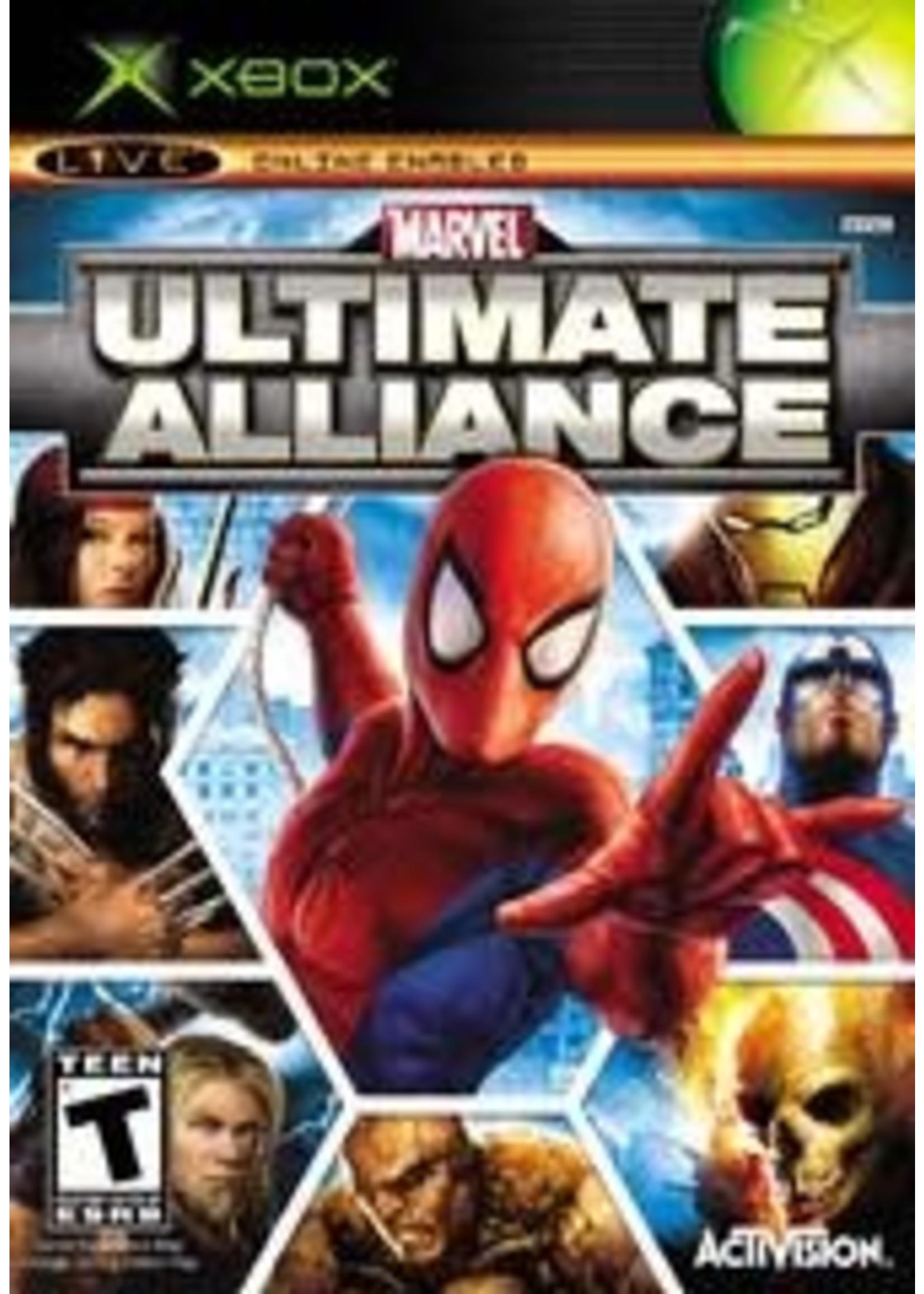 Marvel Ultimate Alliance Xbox