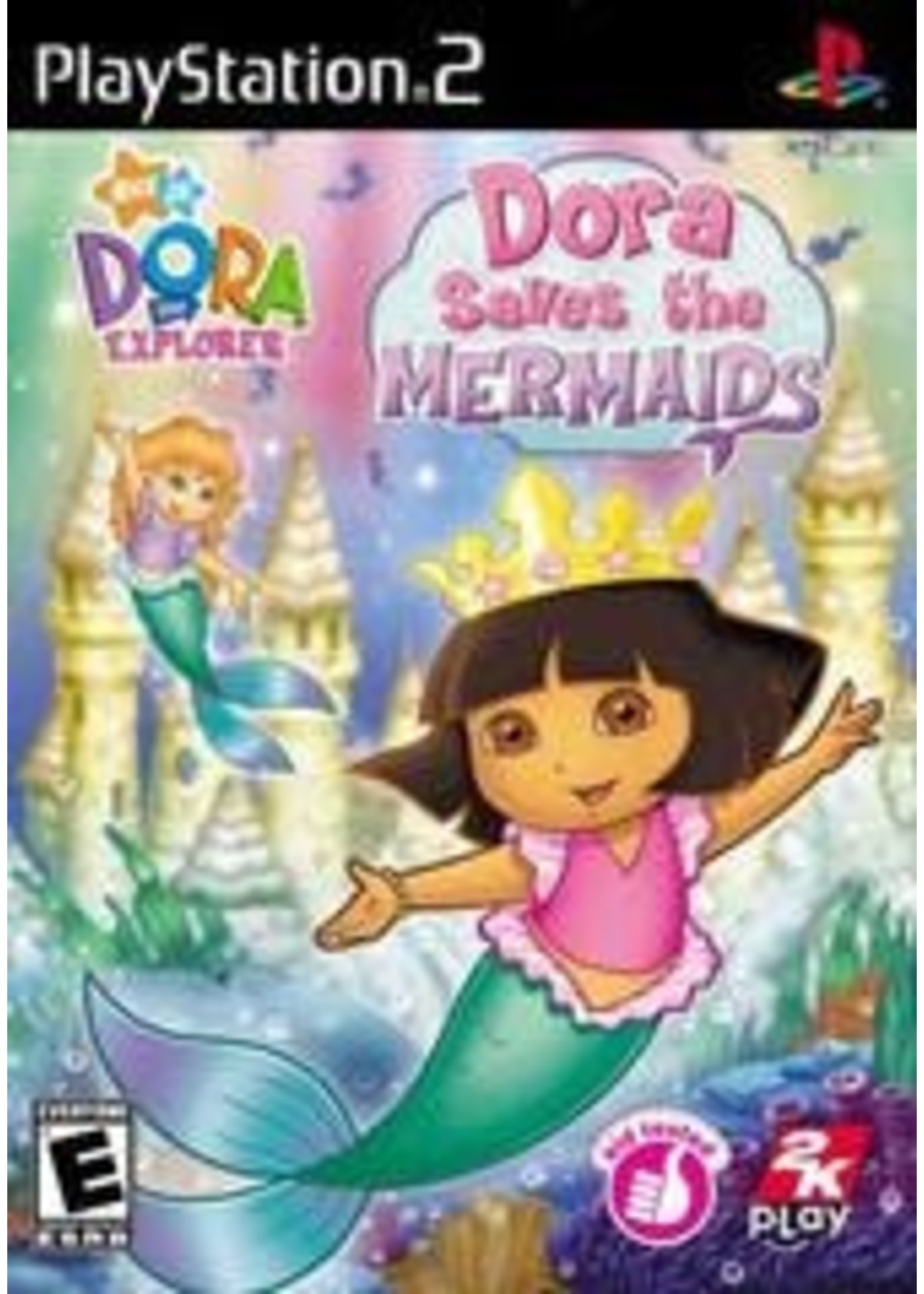 Dora The Explorer Dora Saves The Mermaids Playstation 2