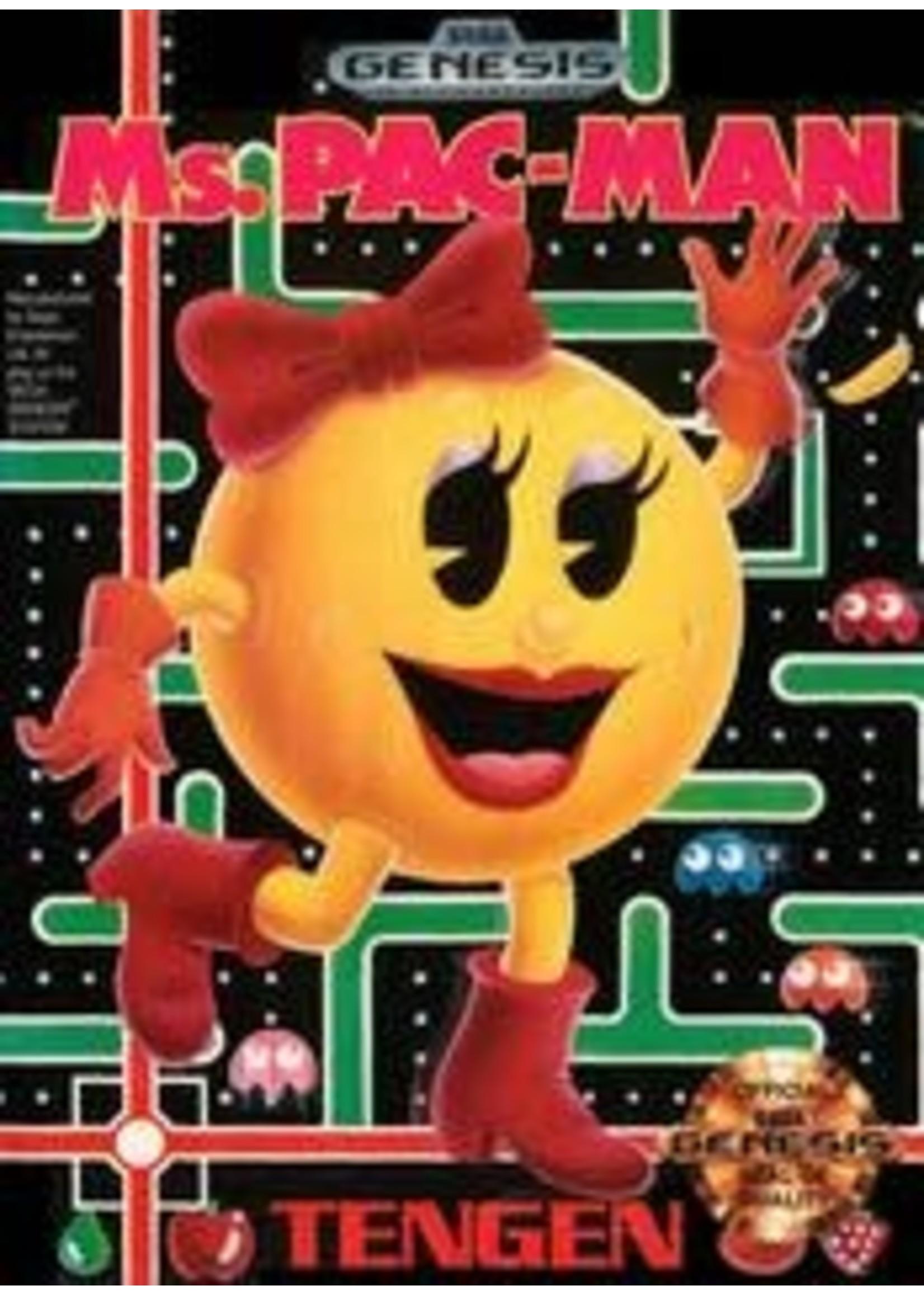 Ms. Pac-Man Sega Genesis