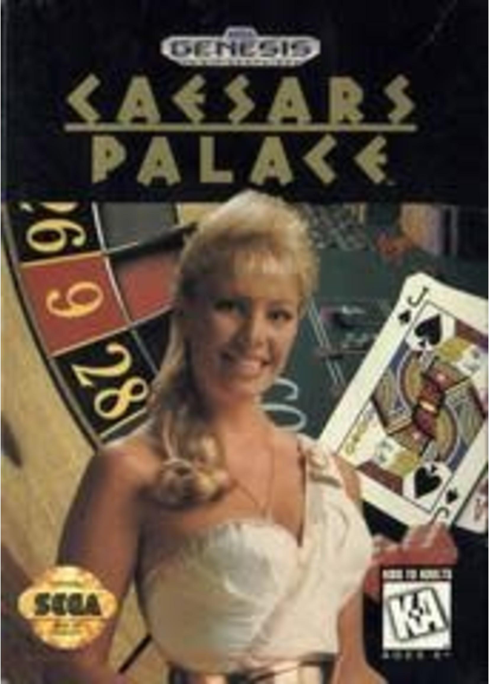Caesar's Palace Sega Genesis