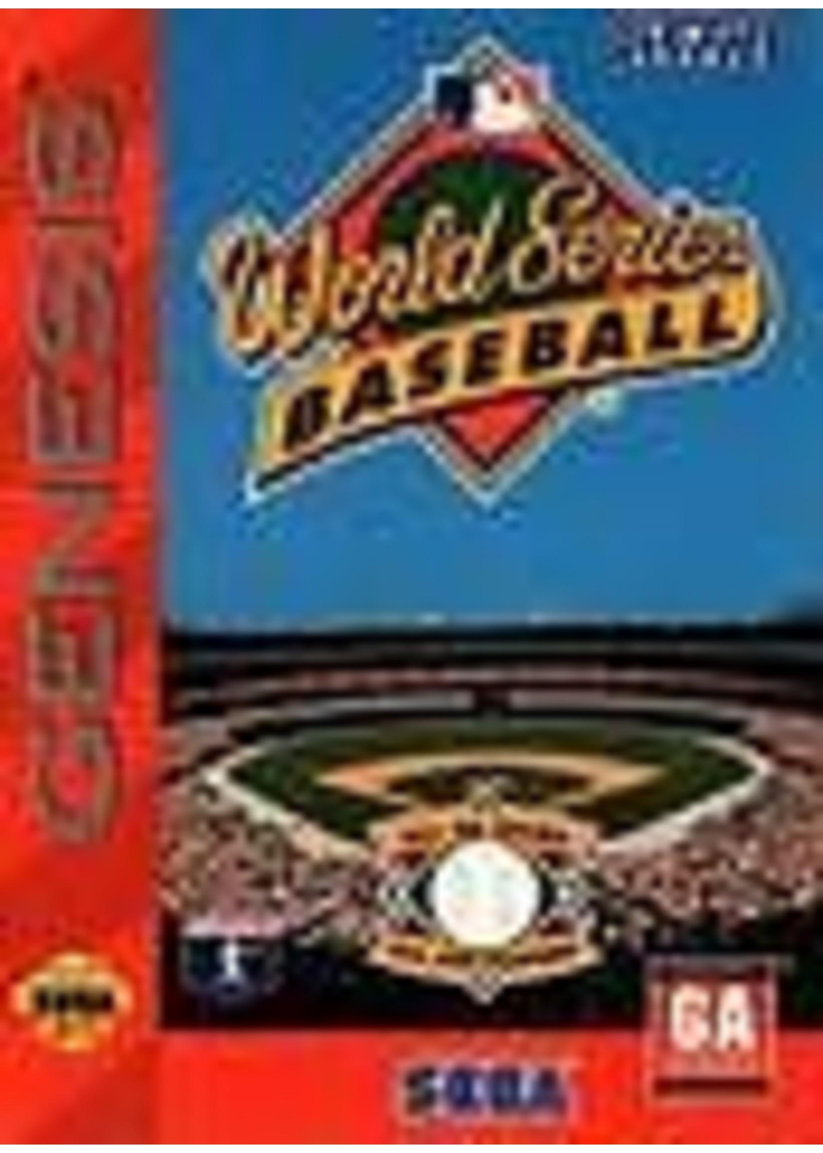 World Series Baseball Sega Genesis