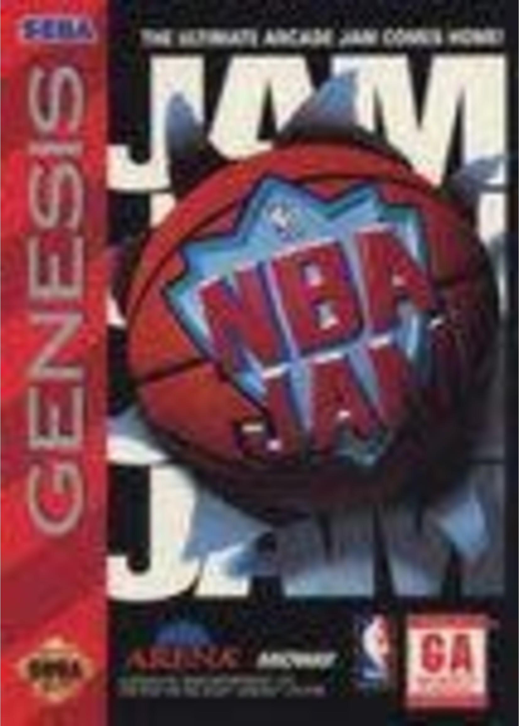 NBA Jam Sega Genesis