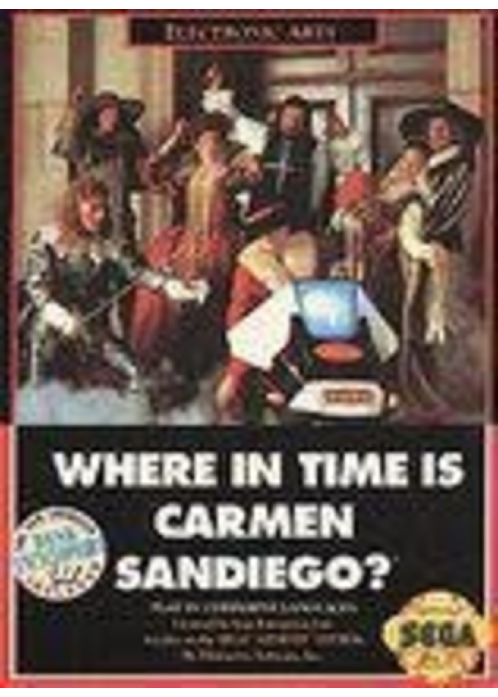 Where In Time Is Carmen Sandiego Sega Genesis