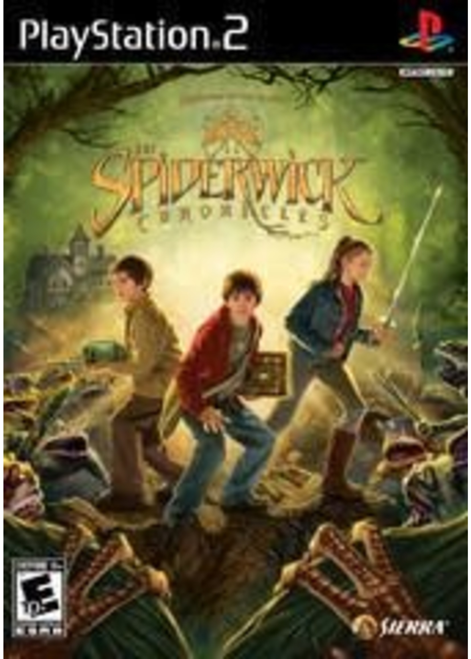 The Spiderwick Chronicles Playstation 2