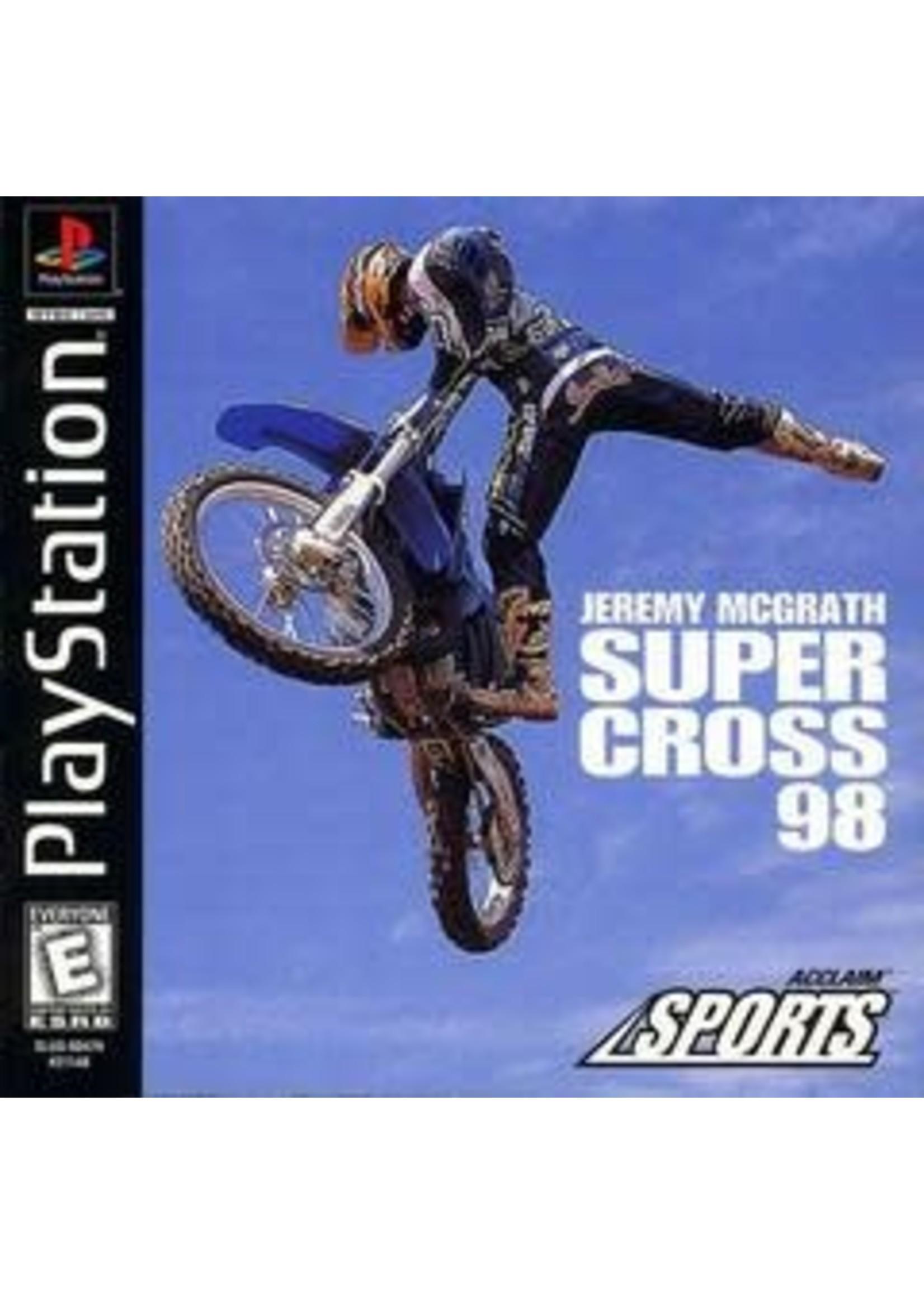 Jeremy McGrath Supercross 98 Playstation