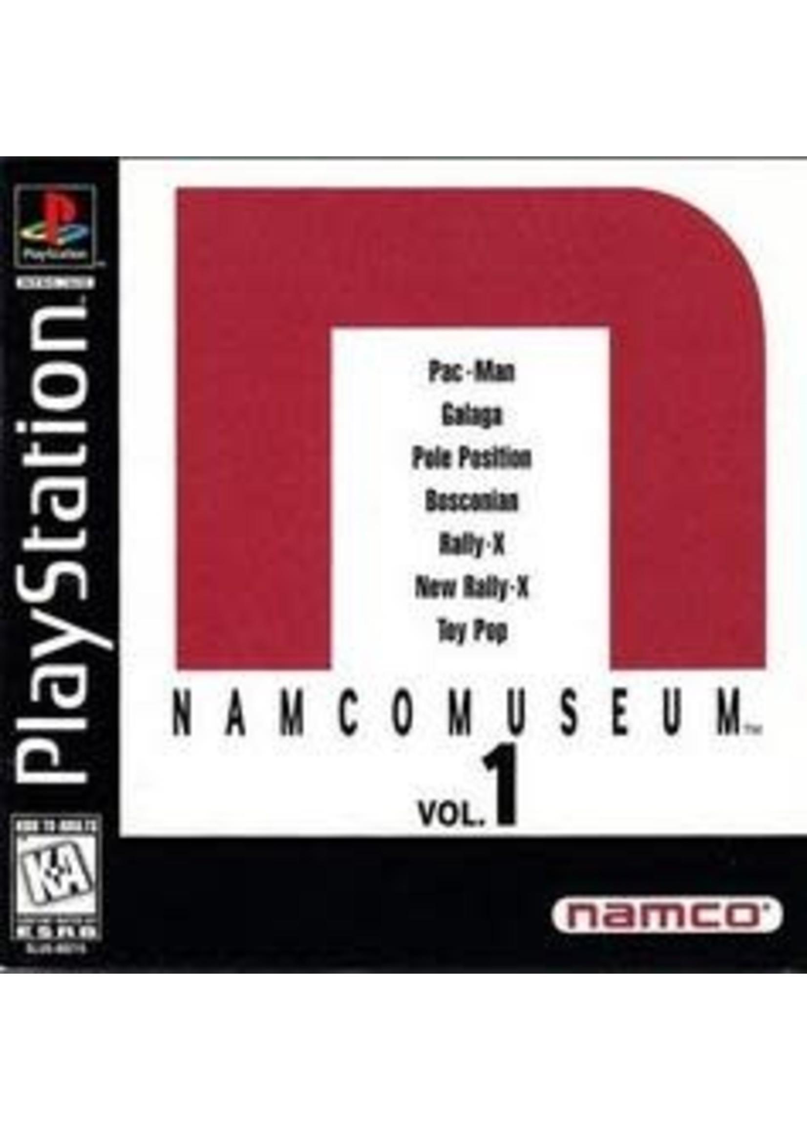 Namco Museum Volume 1 Playstation