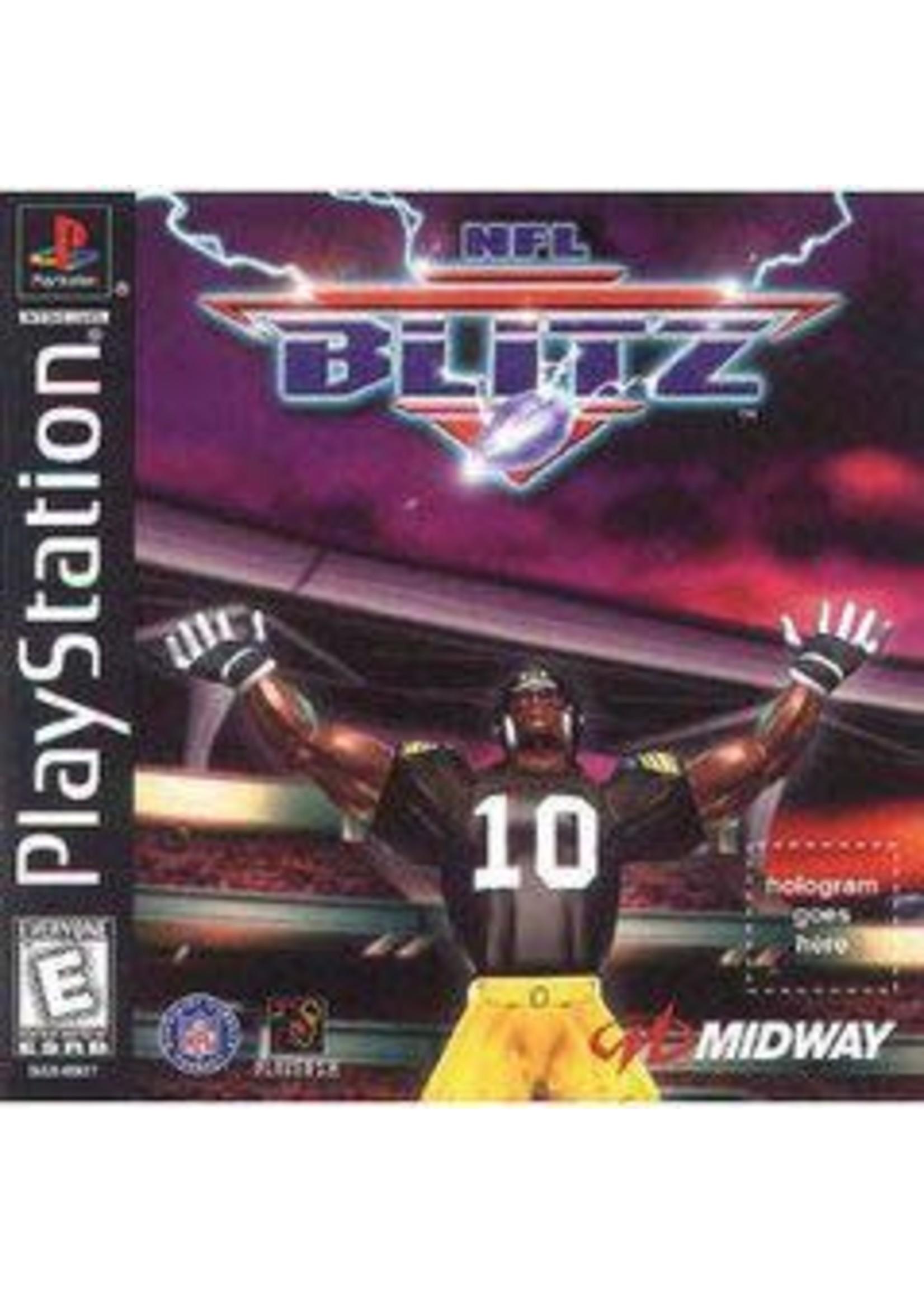 NFL Blitz Playstation