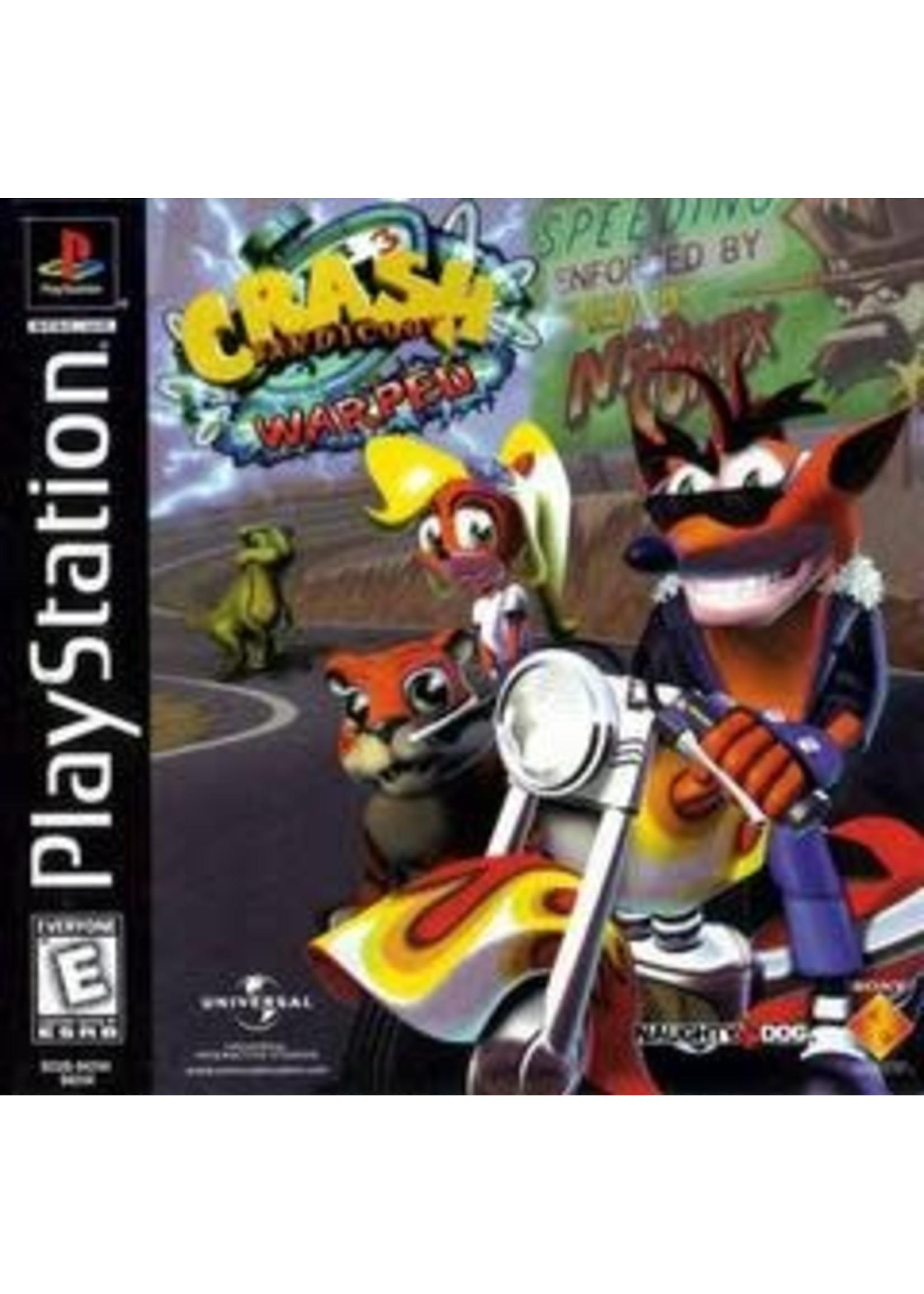 Crash Bandicoot Warped Playstation