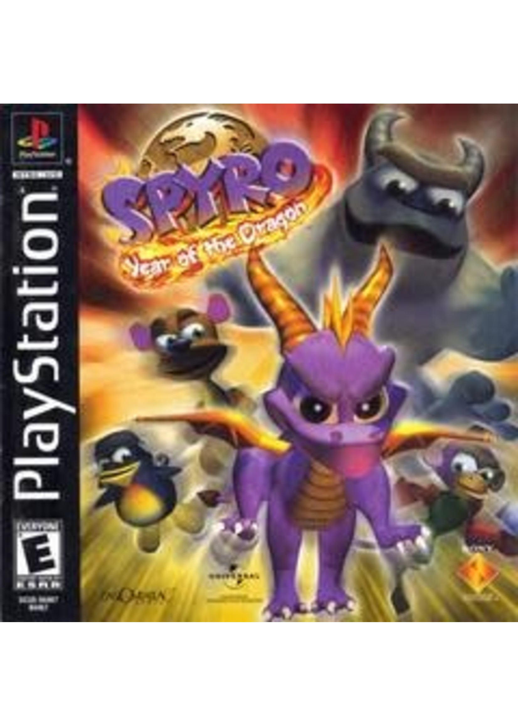 Spyro Year Of The Dragon Playstation
