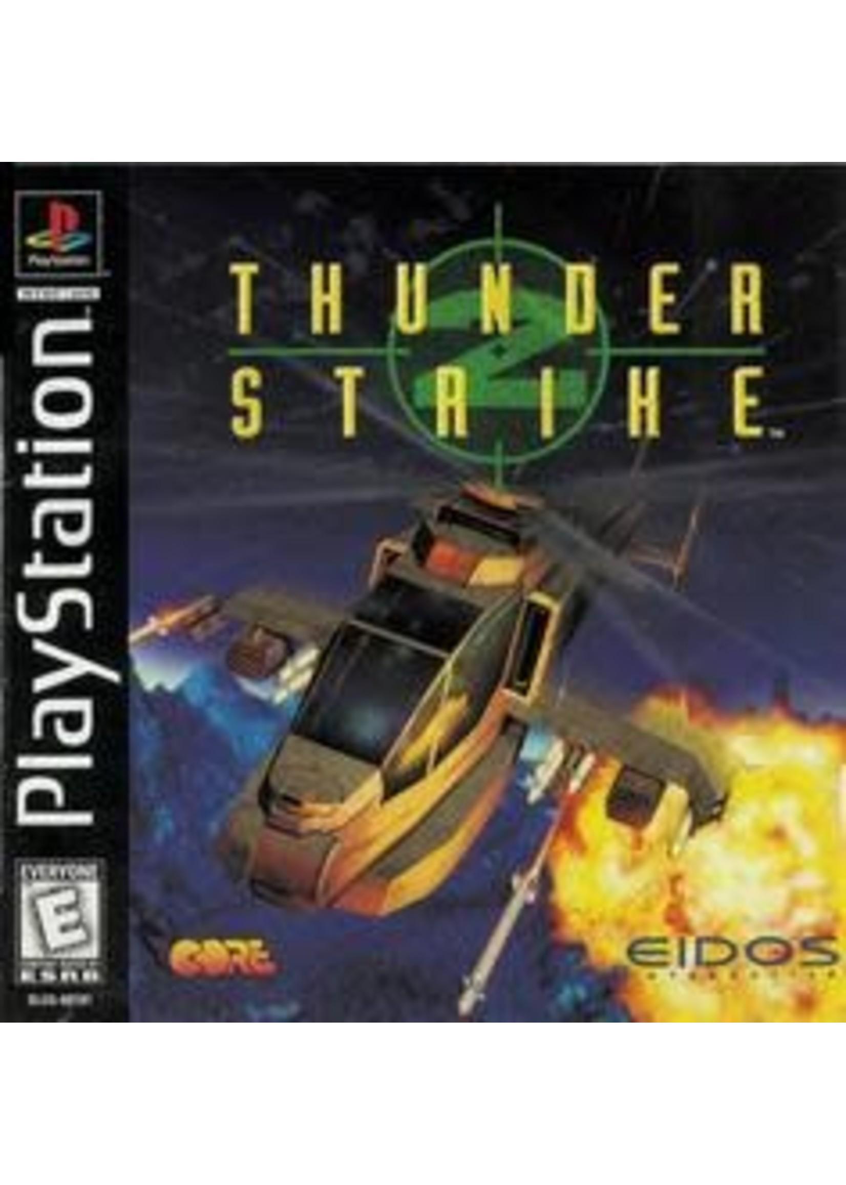 Thunder Strike 2 Playstation