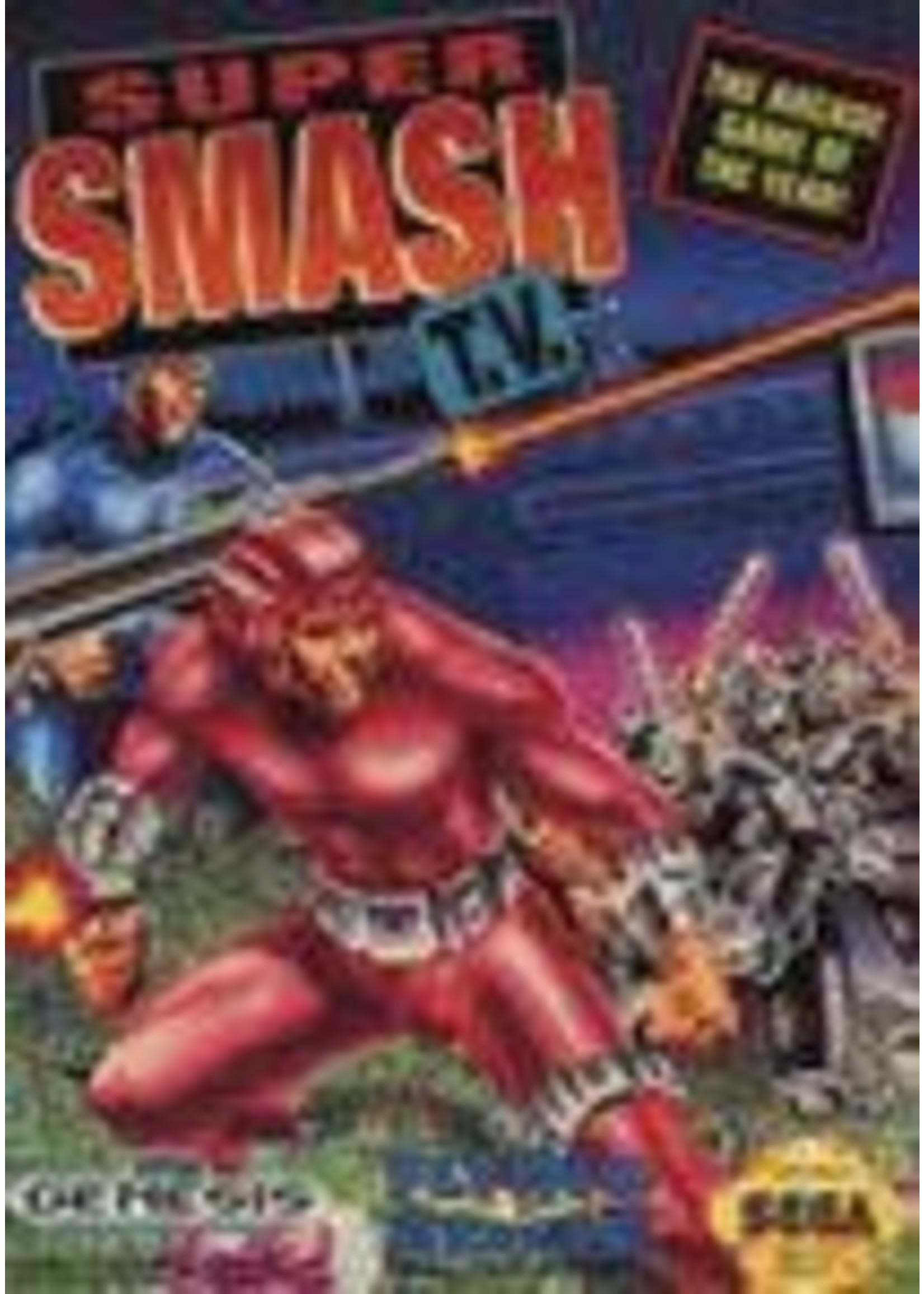 Super Smash TV Sega Genesis
