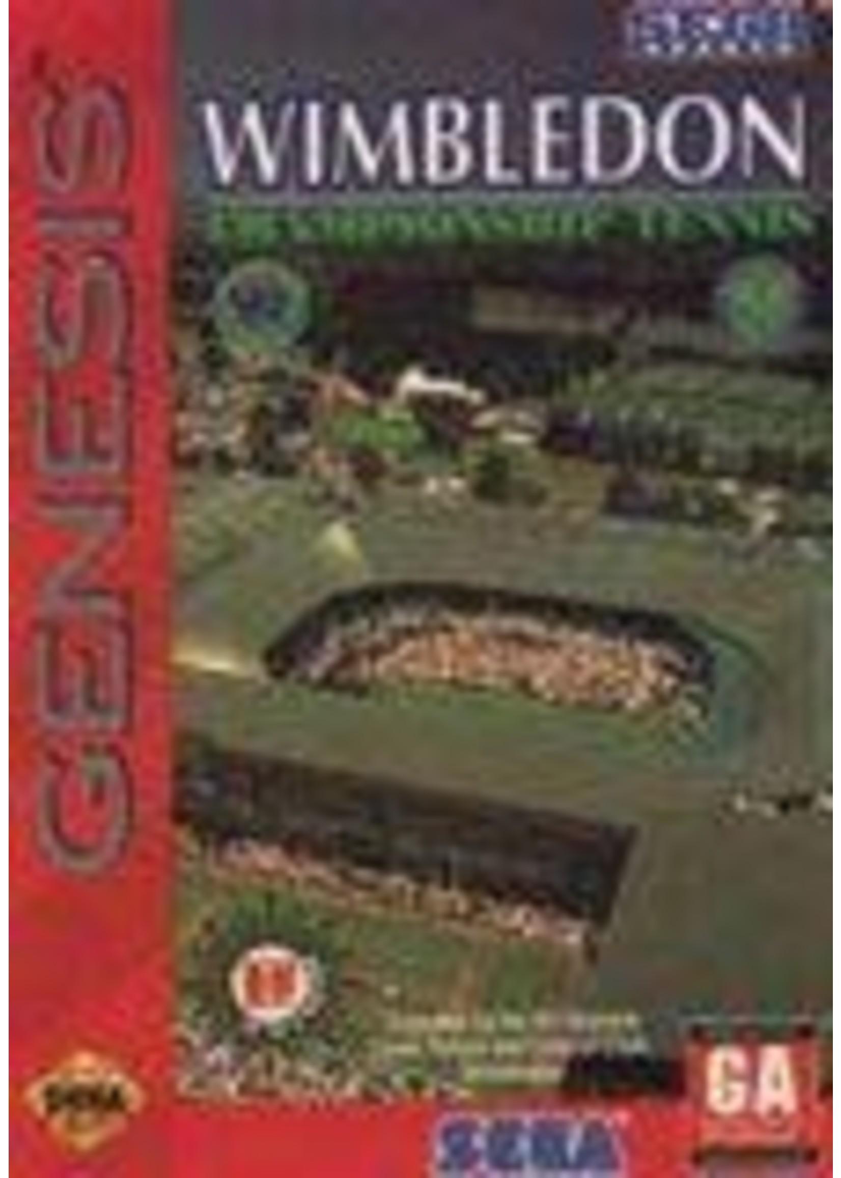 Wimbledon Championship Tennis Sega Genesis