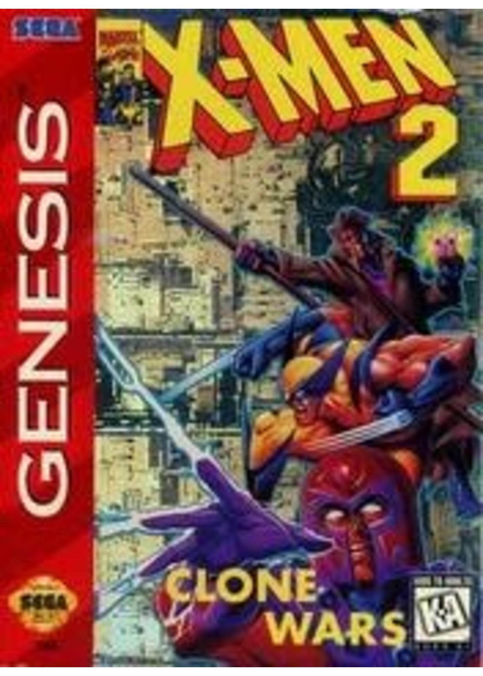 X-Men 2 The Clone Wars Sega Genesis