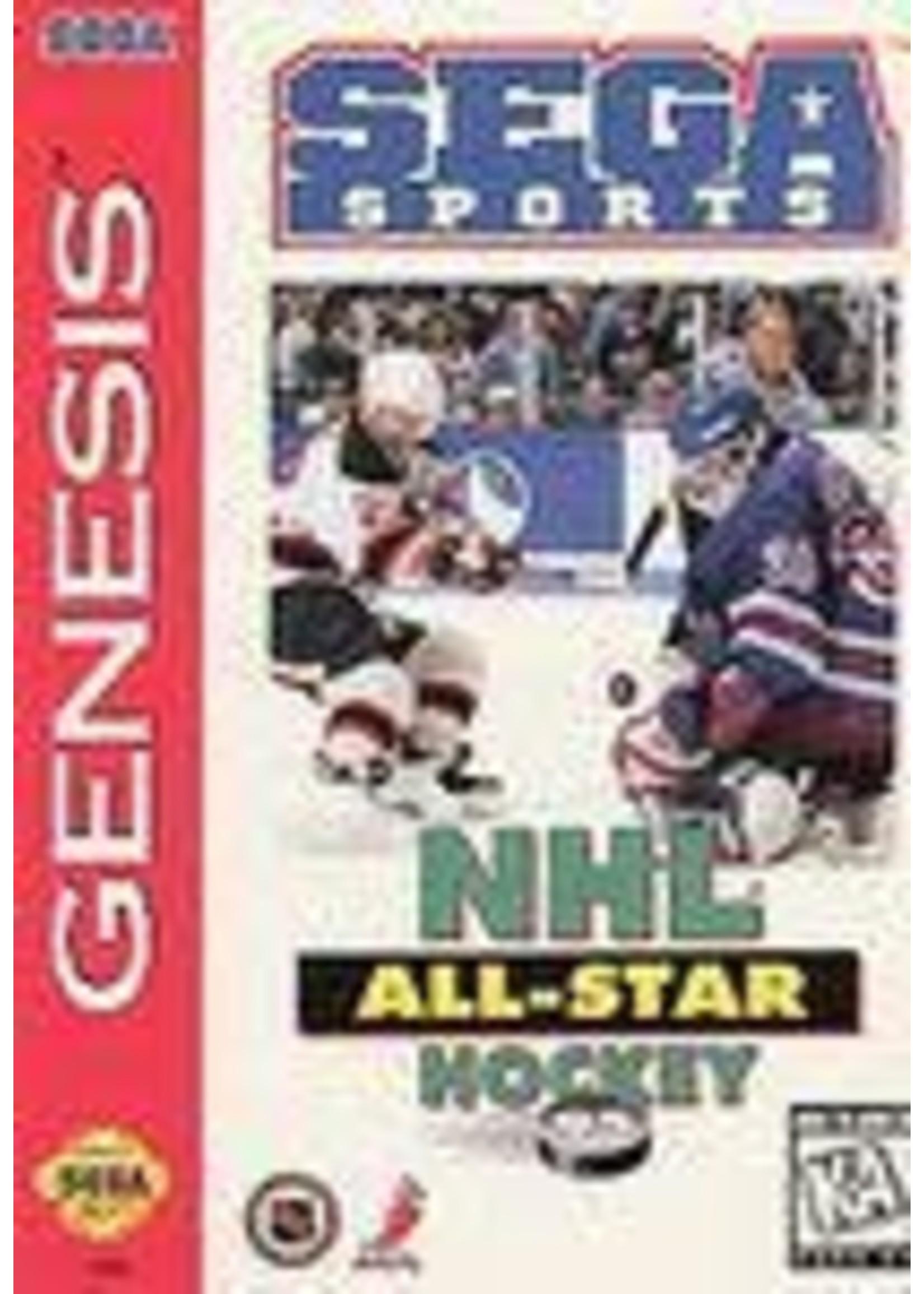 NHL All-Star Hockey 95 Sega Genesis