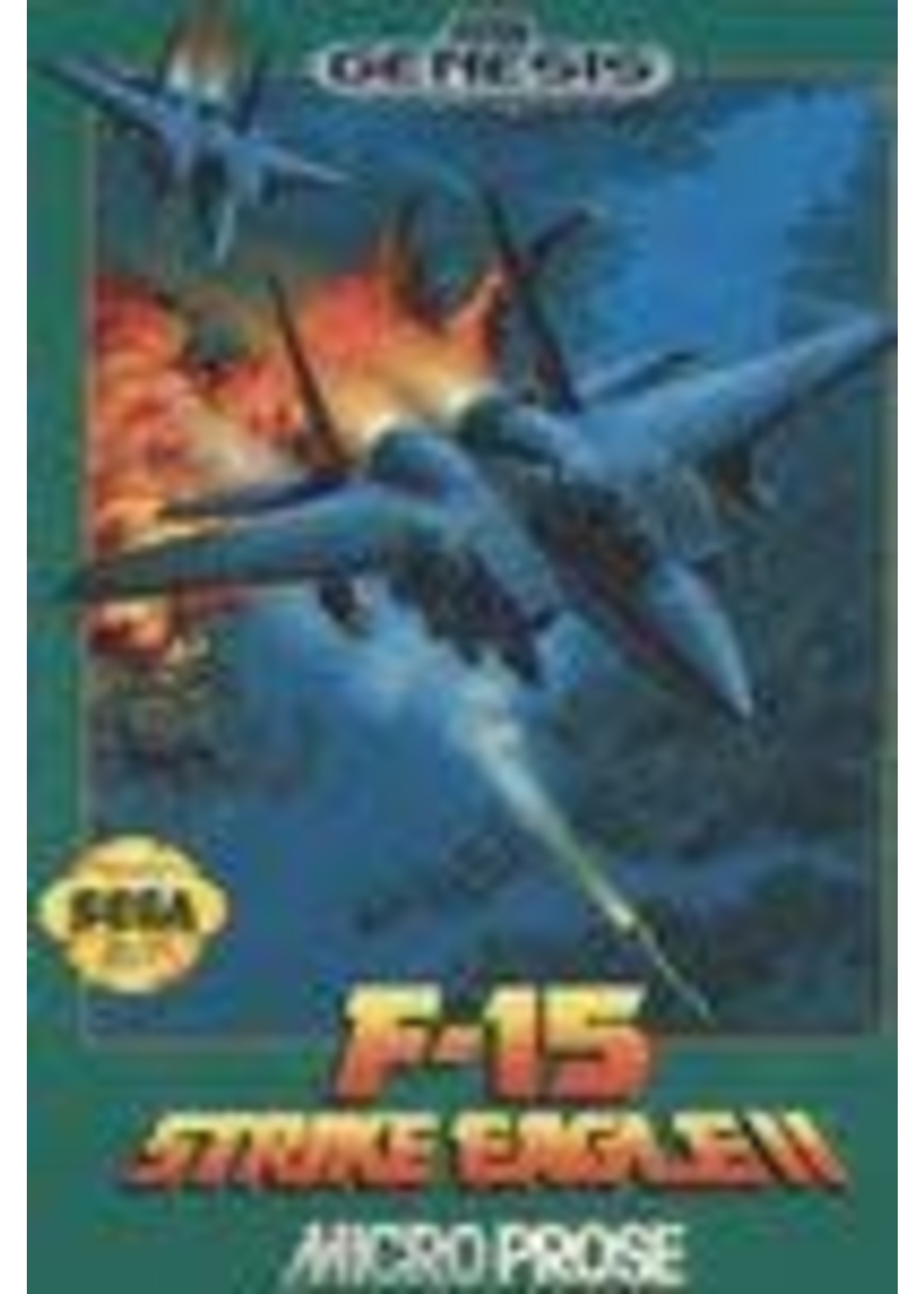 F-15 Strike Eagle II Sega Genesis
