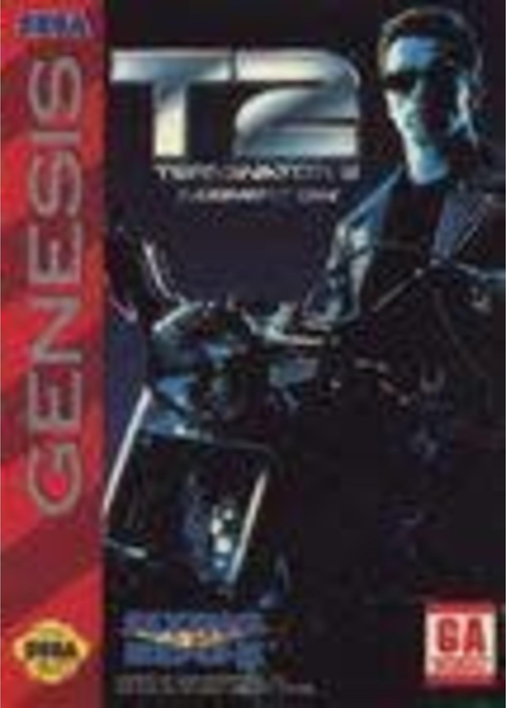 Terminator 2 Judgment Day Sega Genesis