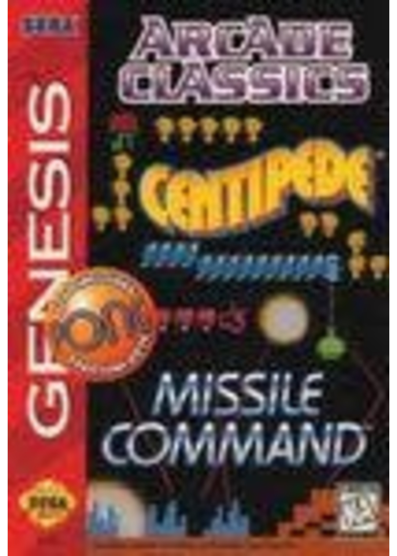 Arcade Classics Sega Genesis