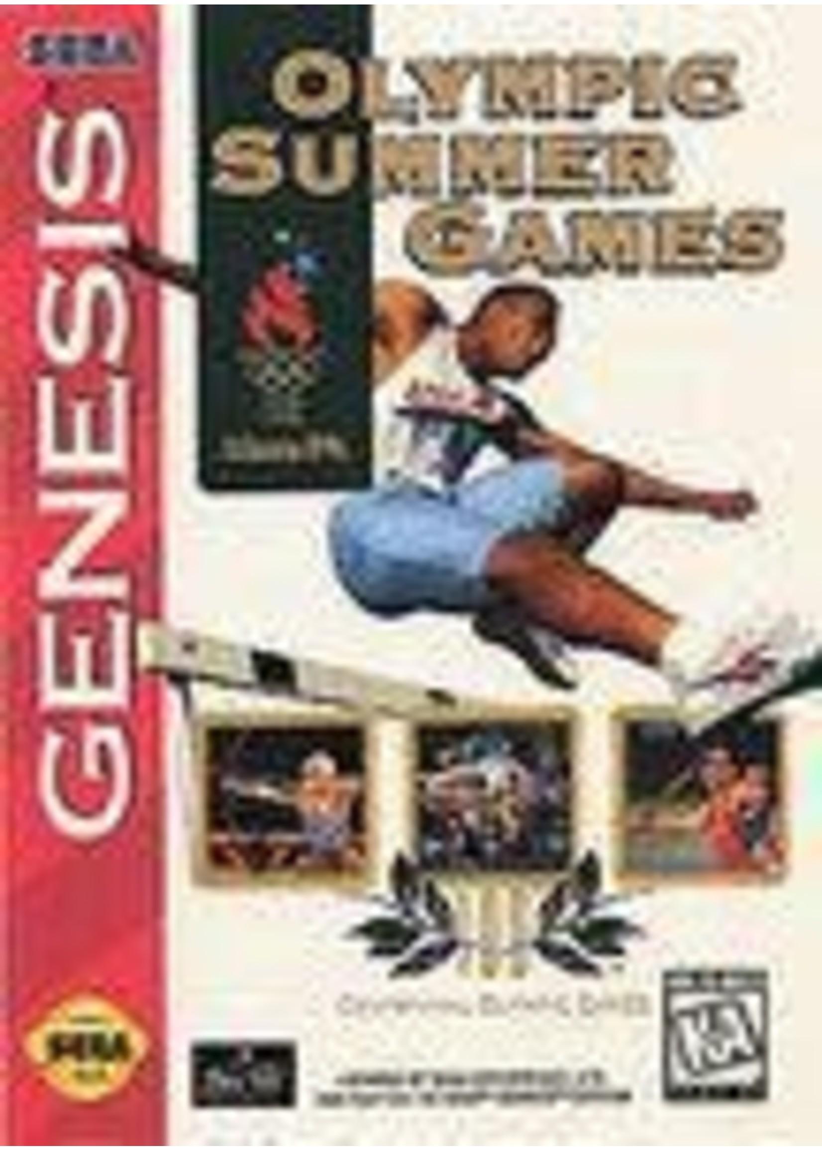 Olympic Summer Games Atlanta 96 Sega Genesis