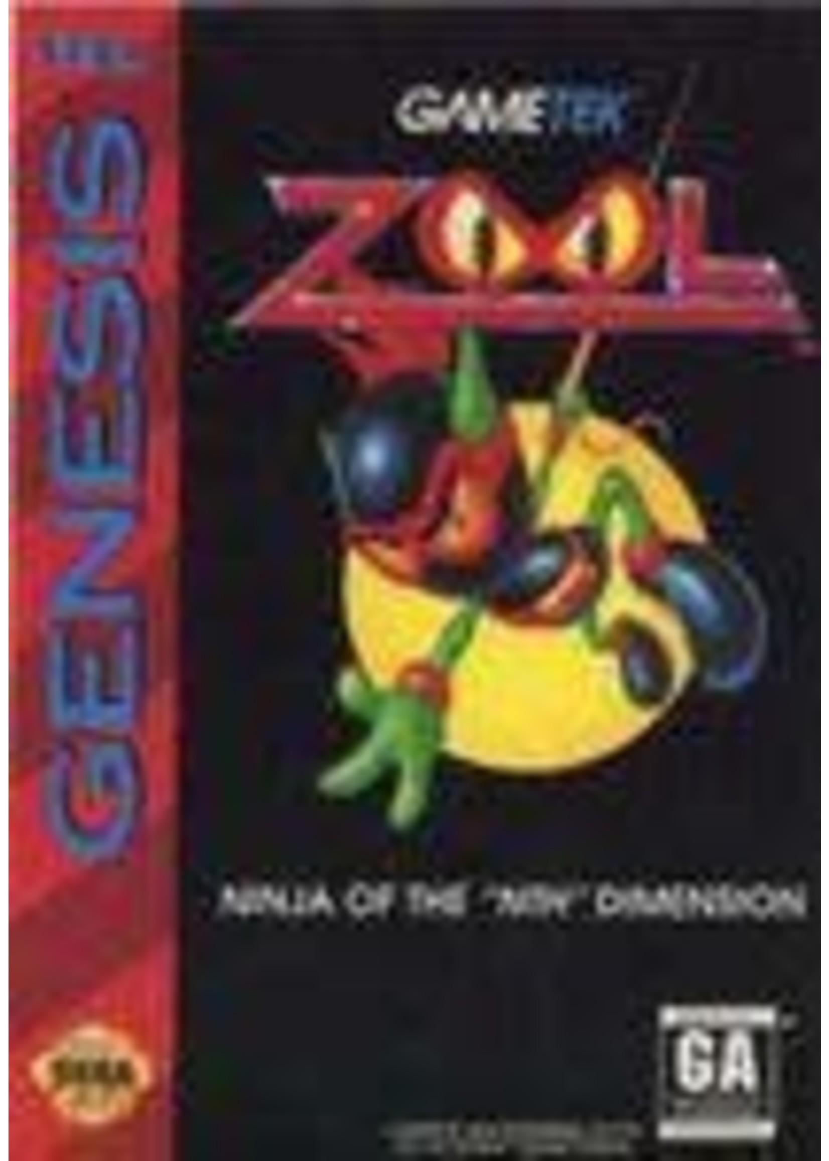 Zool Ninja Of The Nth Dimension Sega Genesis