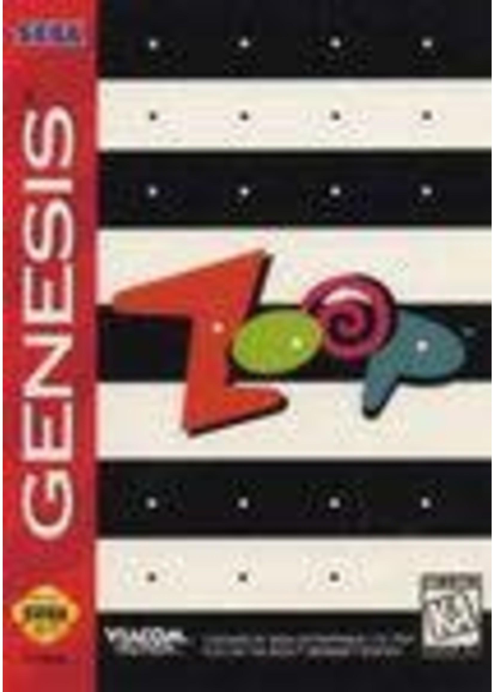 Zoop Sega Genesis