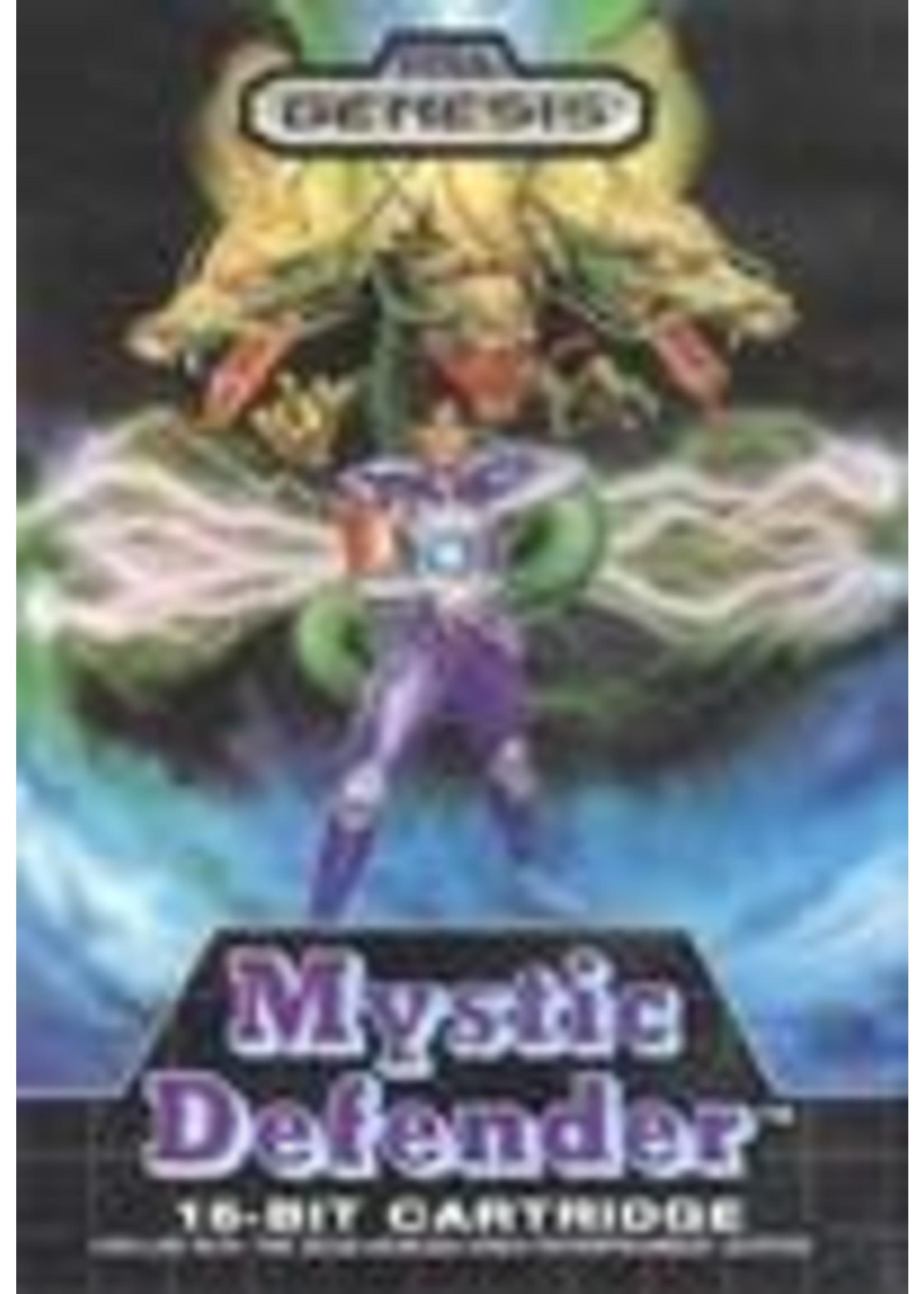 Mystic Defender Sega Genesis