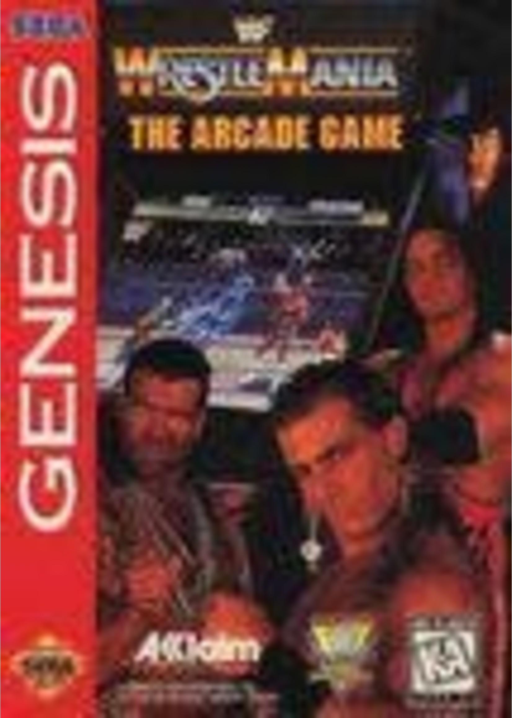 WWF Wrestlemania Arcade Game Sega Genesis