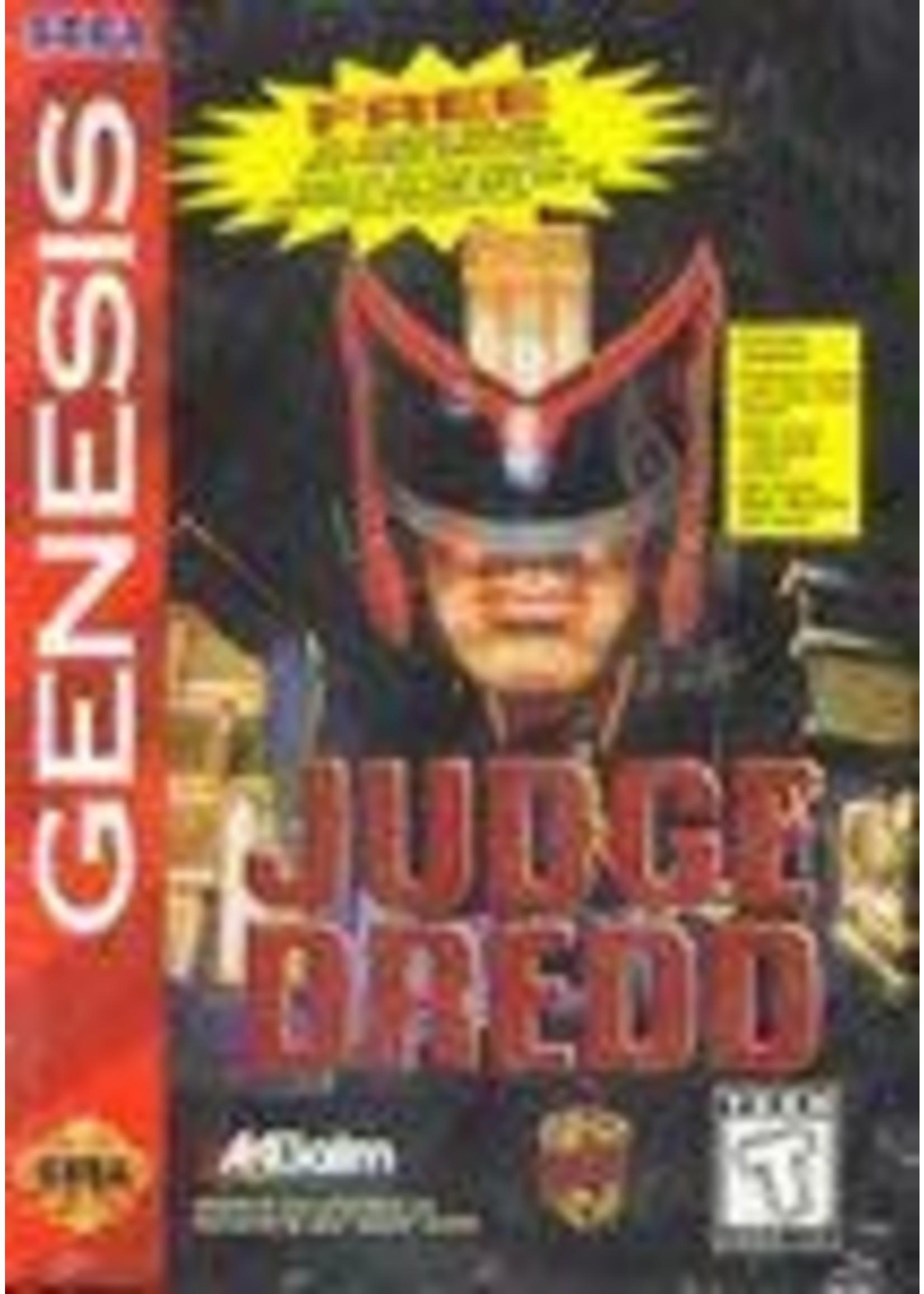 Judge Dredd Sega Genesis