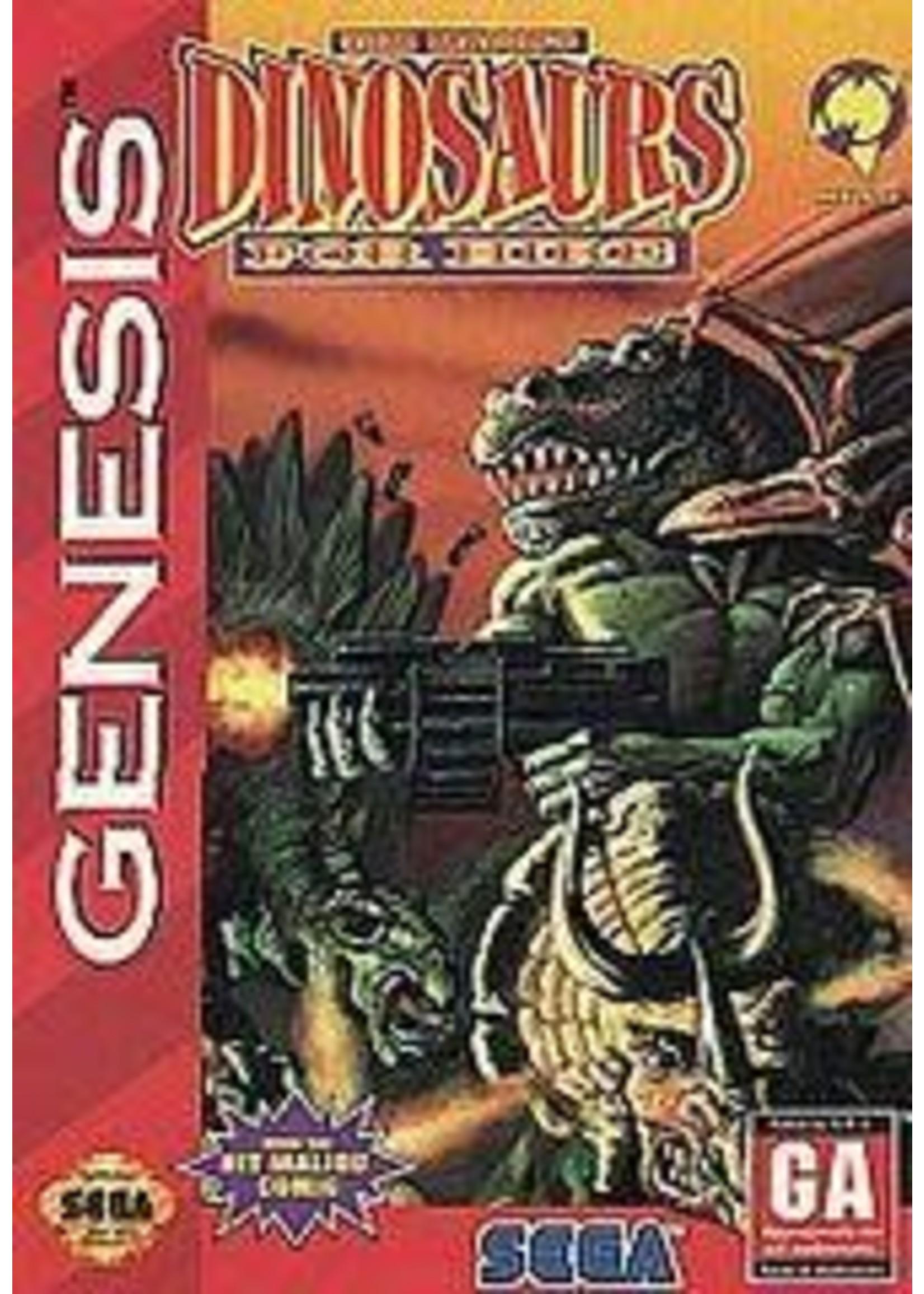 Dinosaurs For Hire Sega Genesis