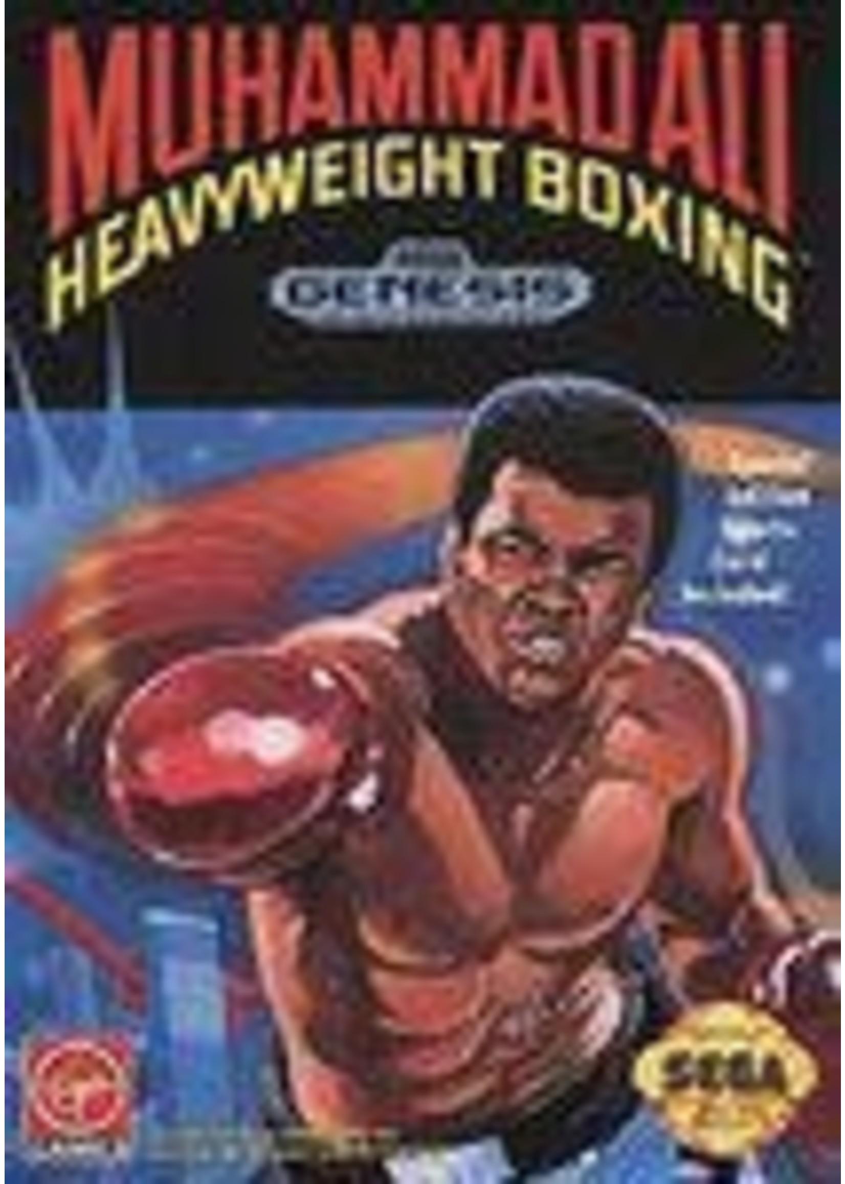 Muhammad Ali Heavyweight Boxing Sega Genesis