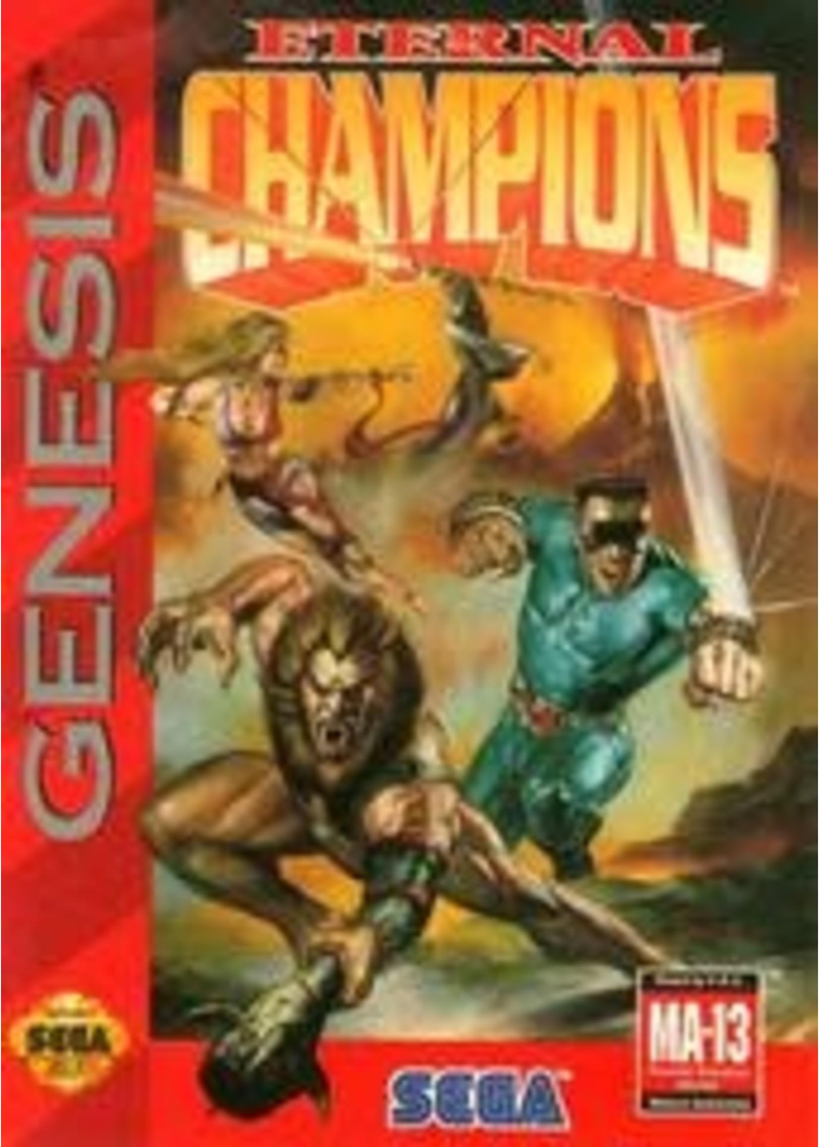 Eternal Champions Sega Genesis