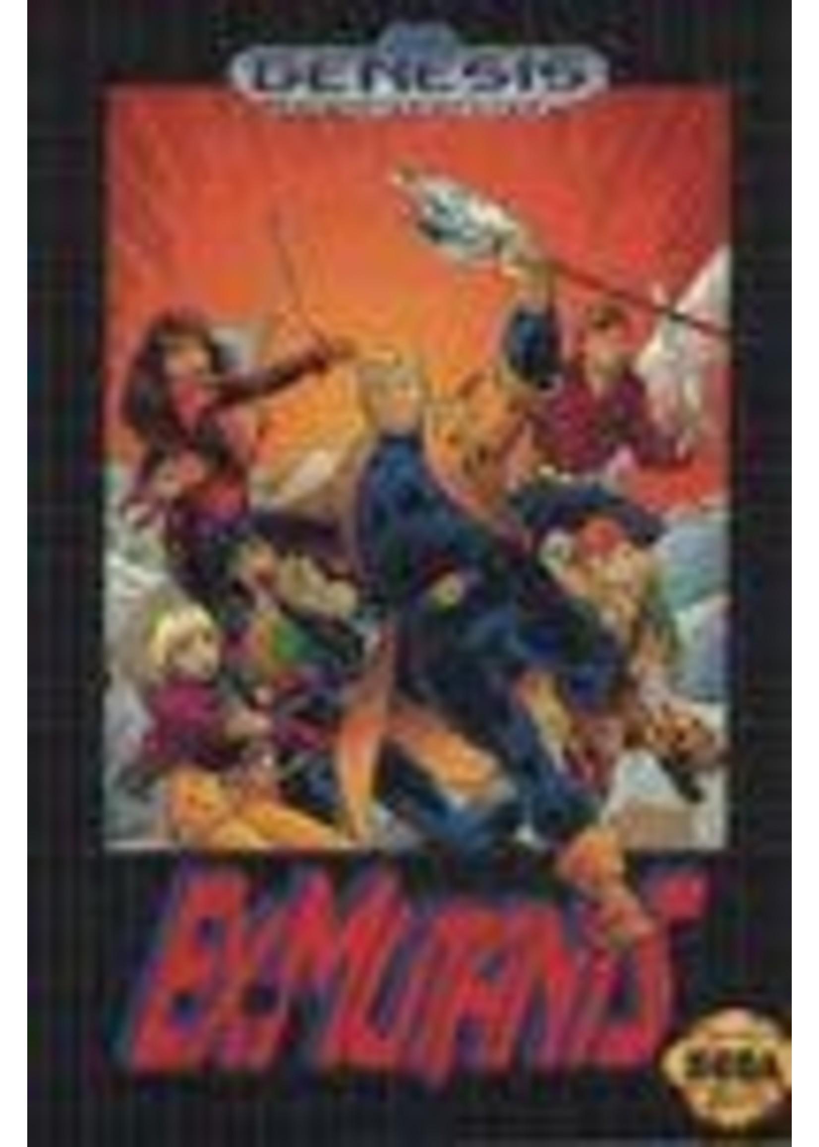 Ex-Mutants Sega Genesis
