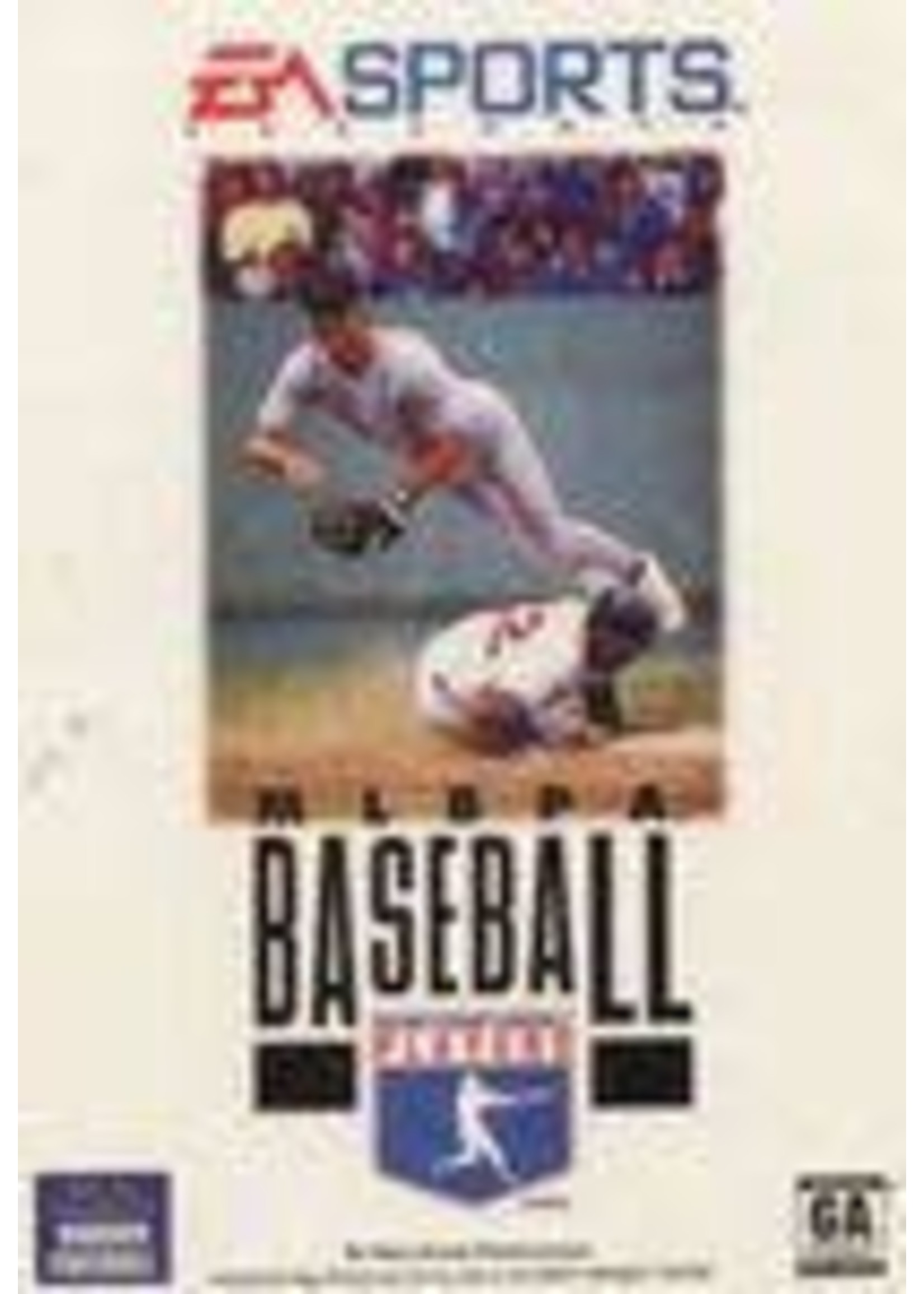 MLBPA Baseball Sega Genesis