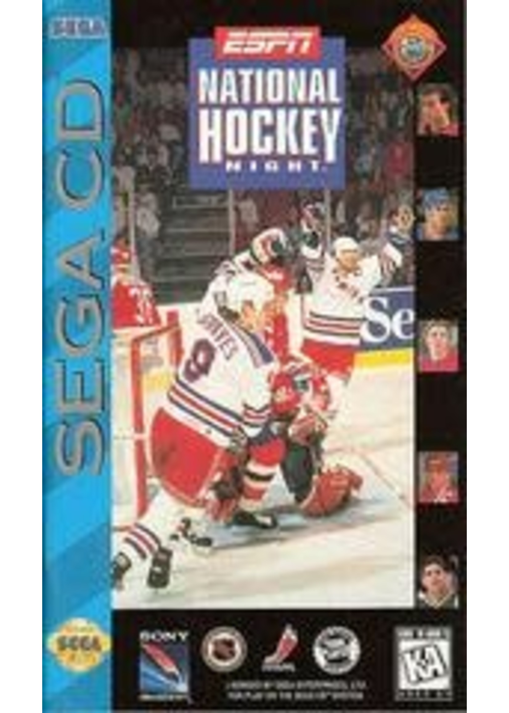ESPN National Hockey Night Sega CD