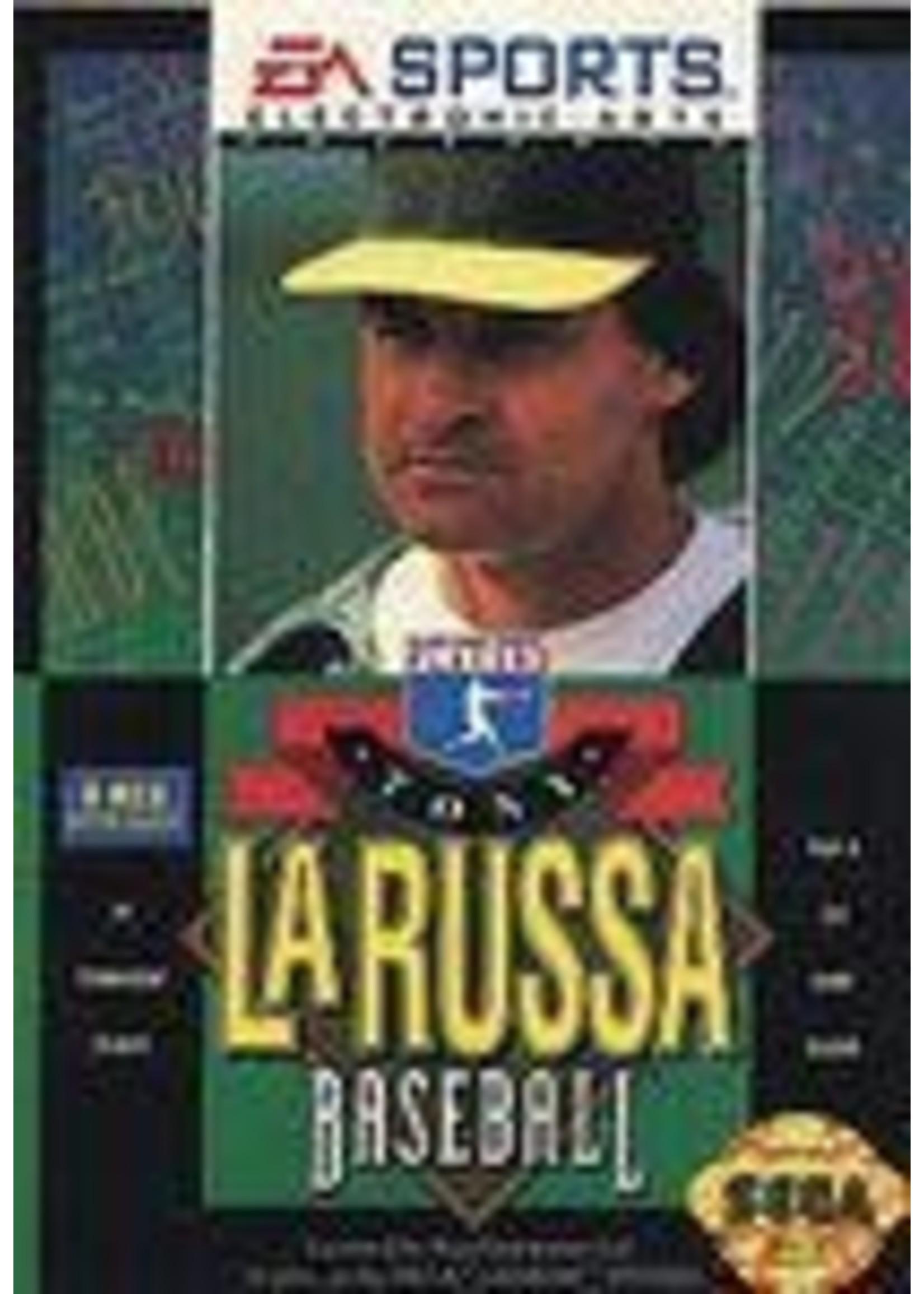 Tony La Russa Baseball Sega Genesis