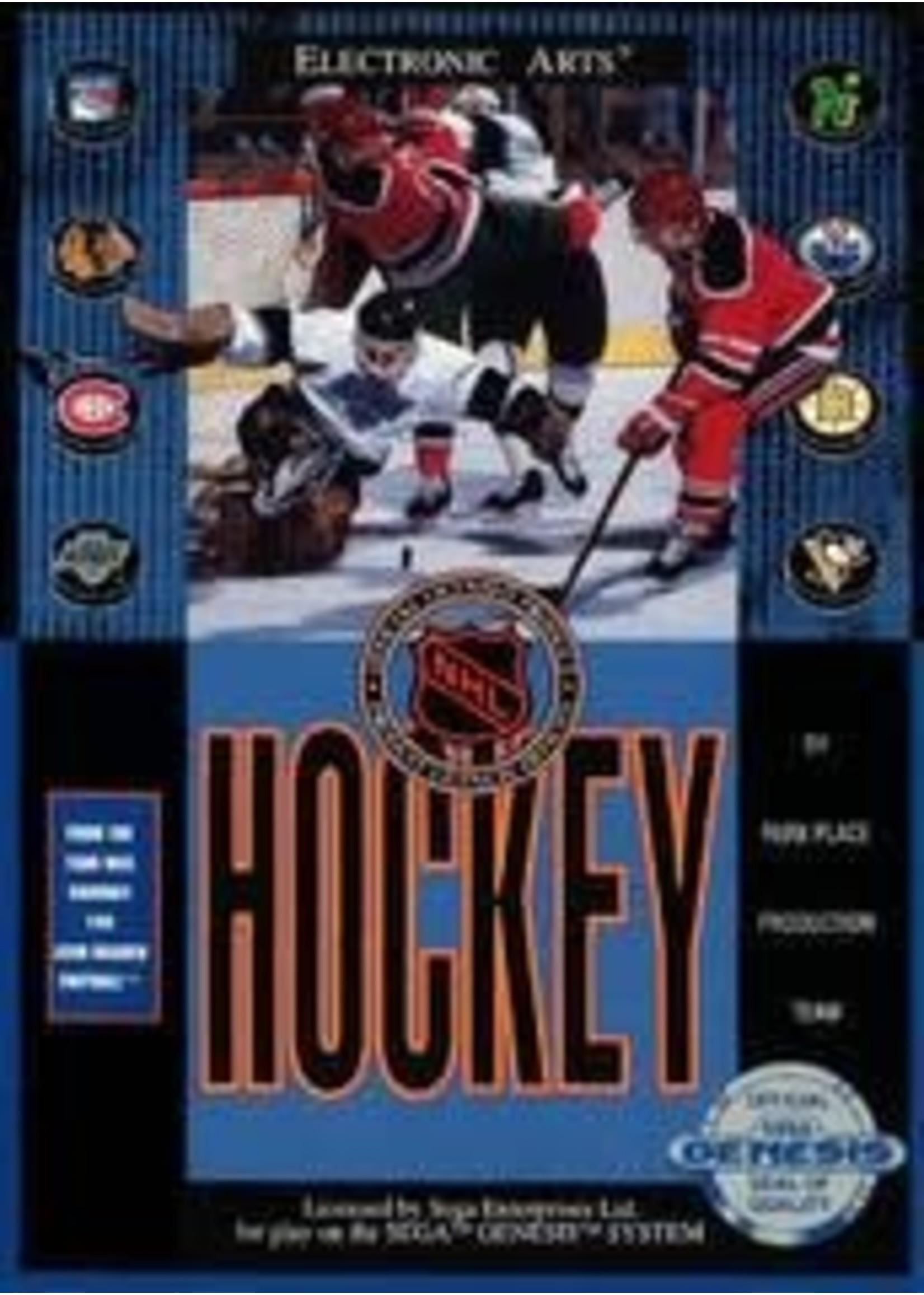 NHL Hockey Sega Genesis
