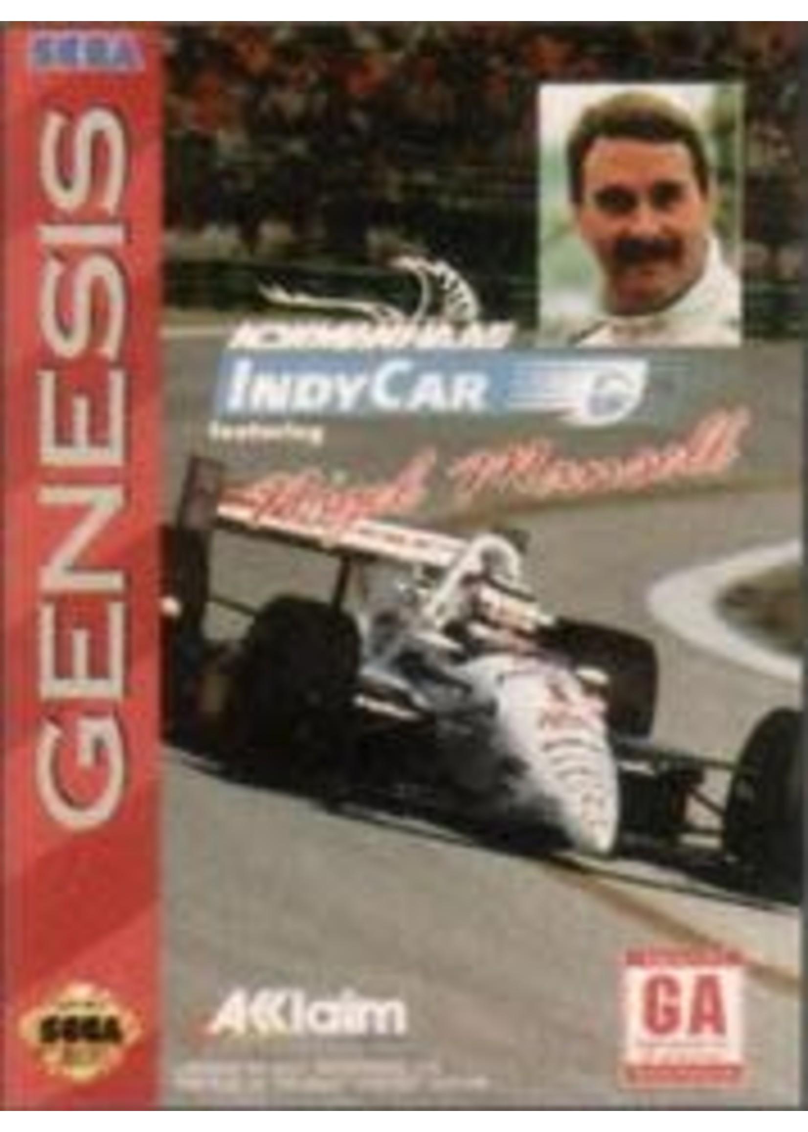 Newman-Haas IndyCar Sega Genesis