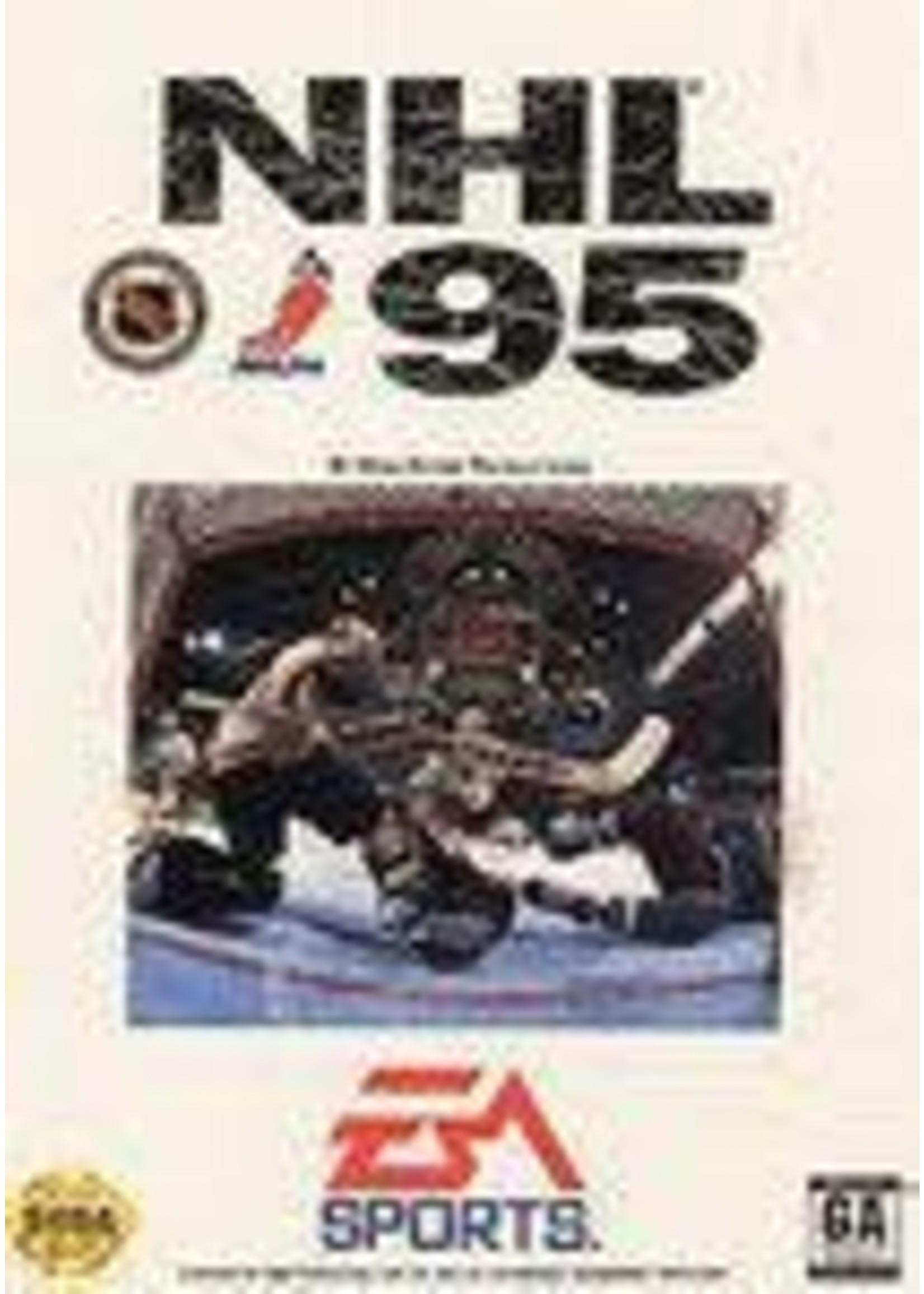 NHL 95 Sega Genesis