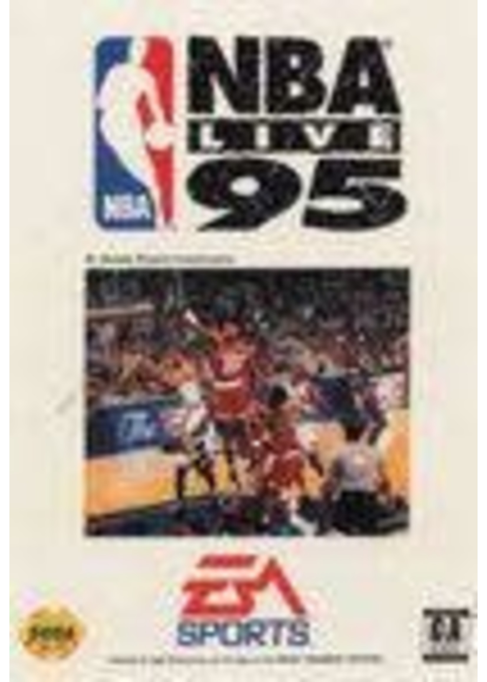 NBA Live 95 Sega Genesis