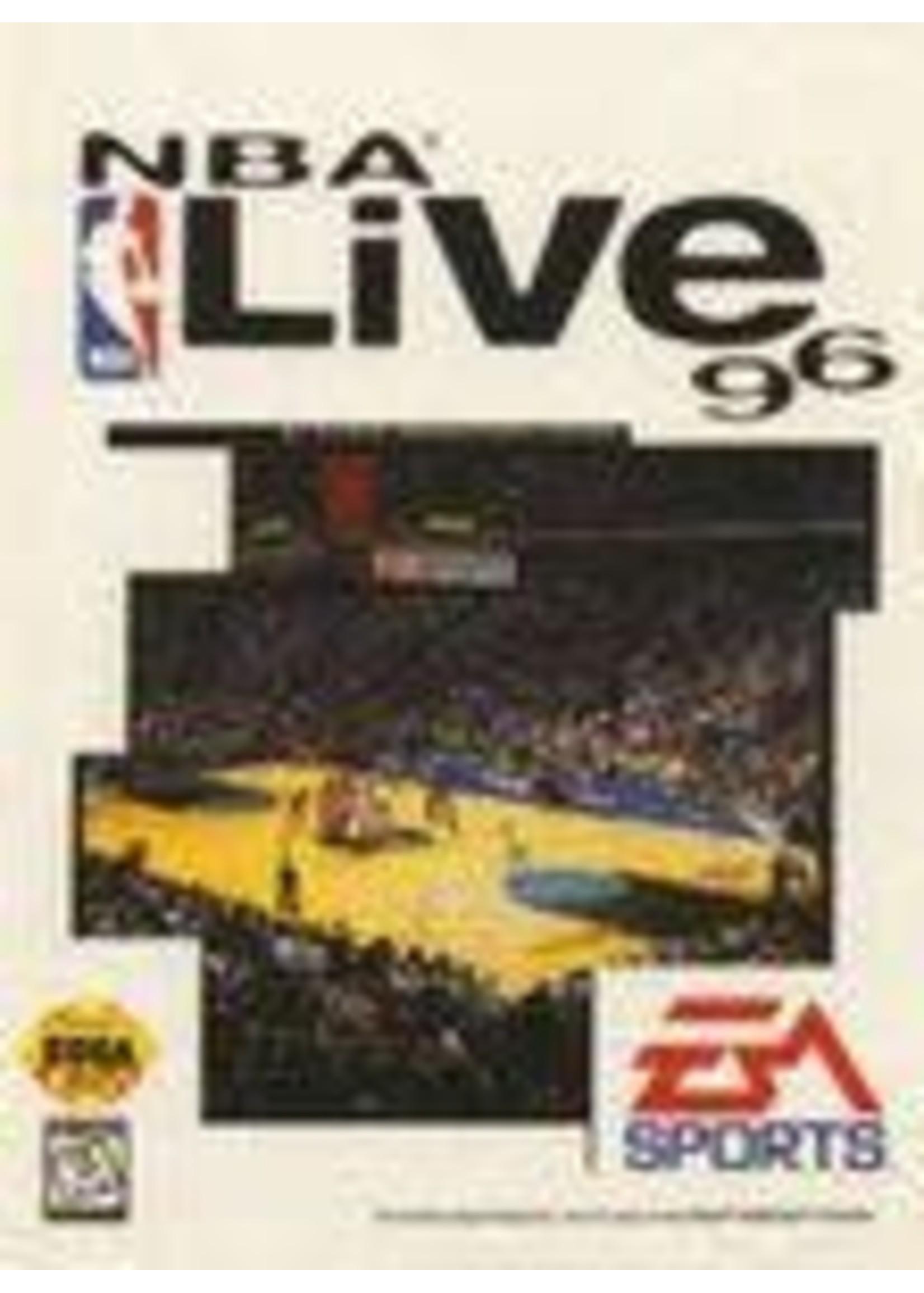 NBA Live 96 Sega Genesis