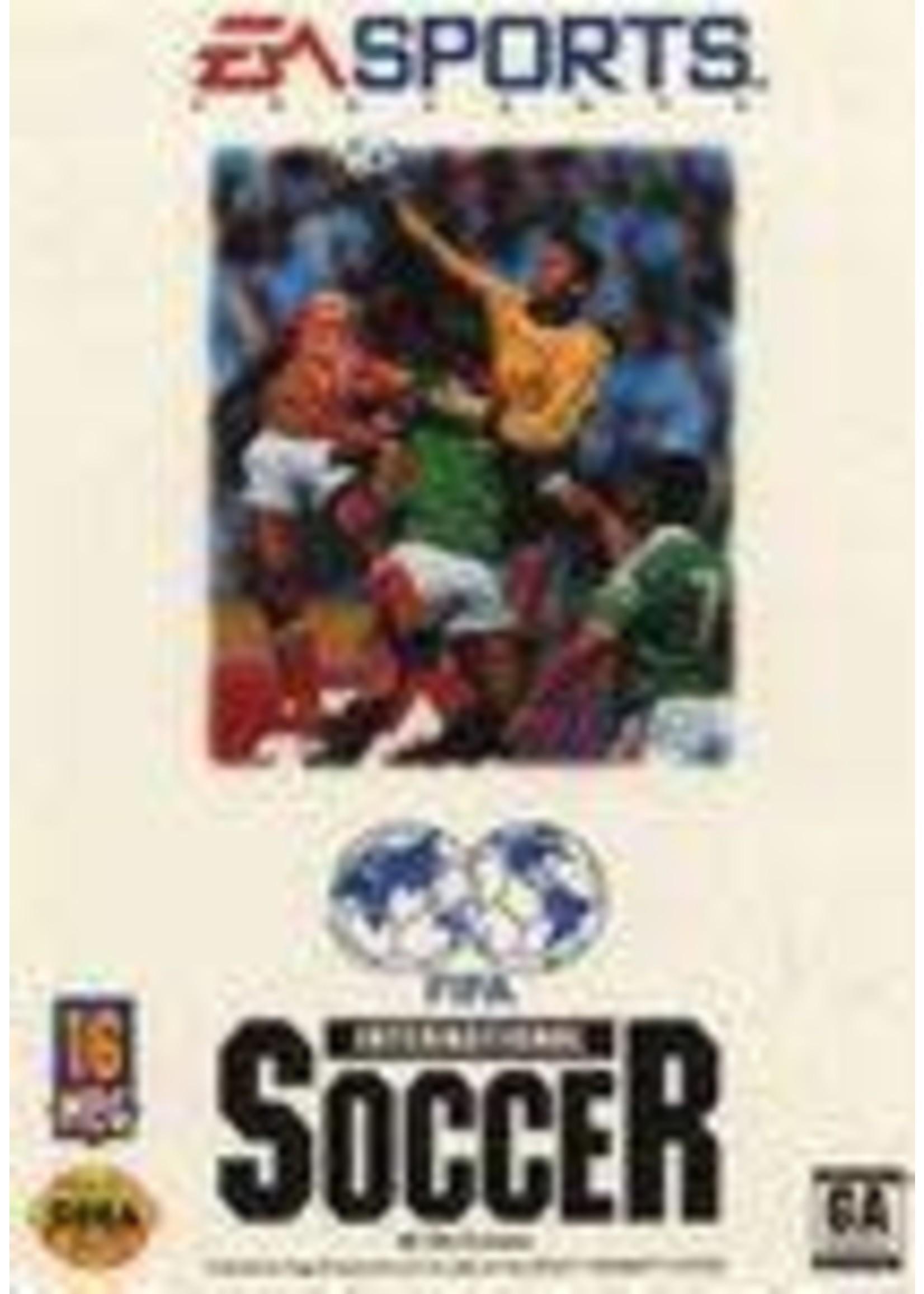 FIFA International Soccer Sega Genesis