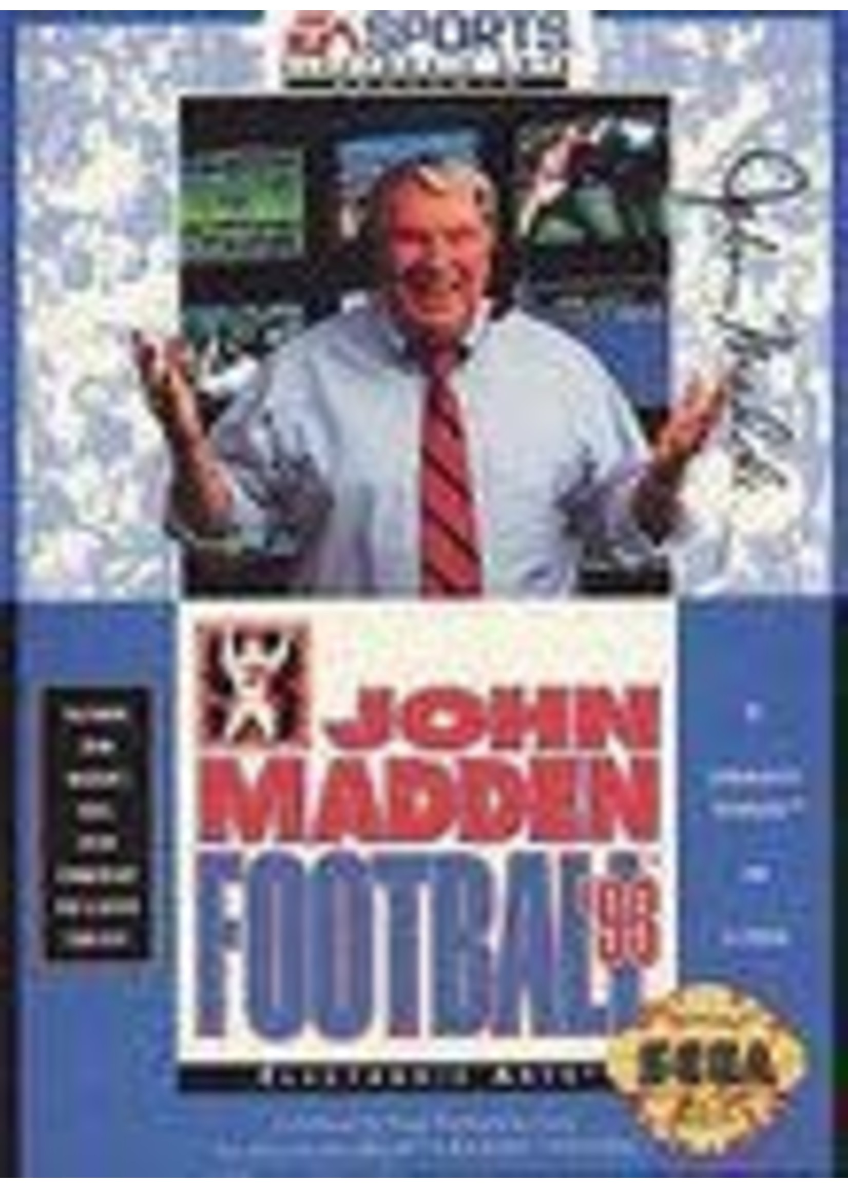 John Madden Football '93 Sega Genesis