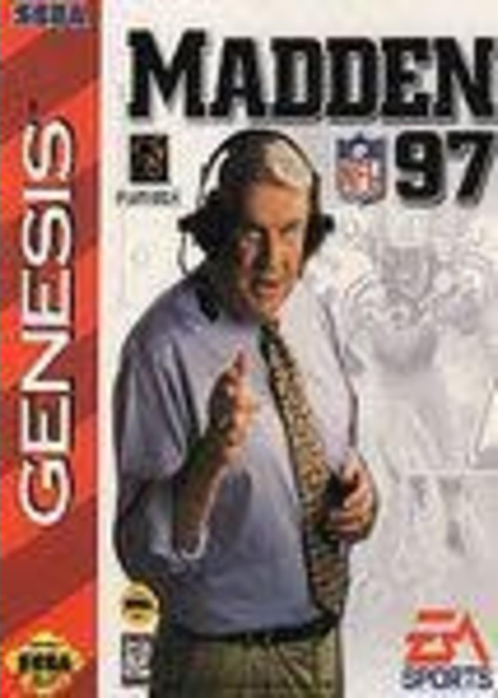 Madden 97 Sega Genesis