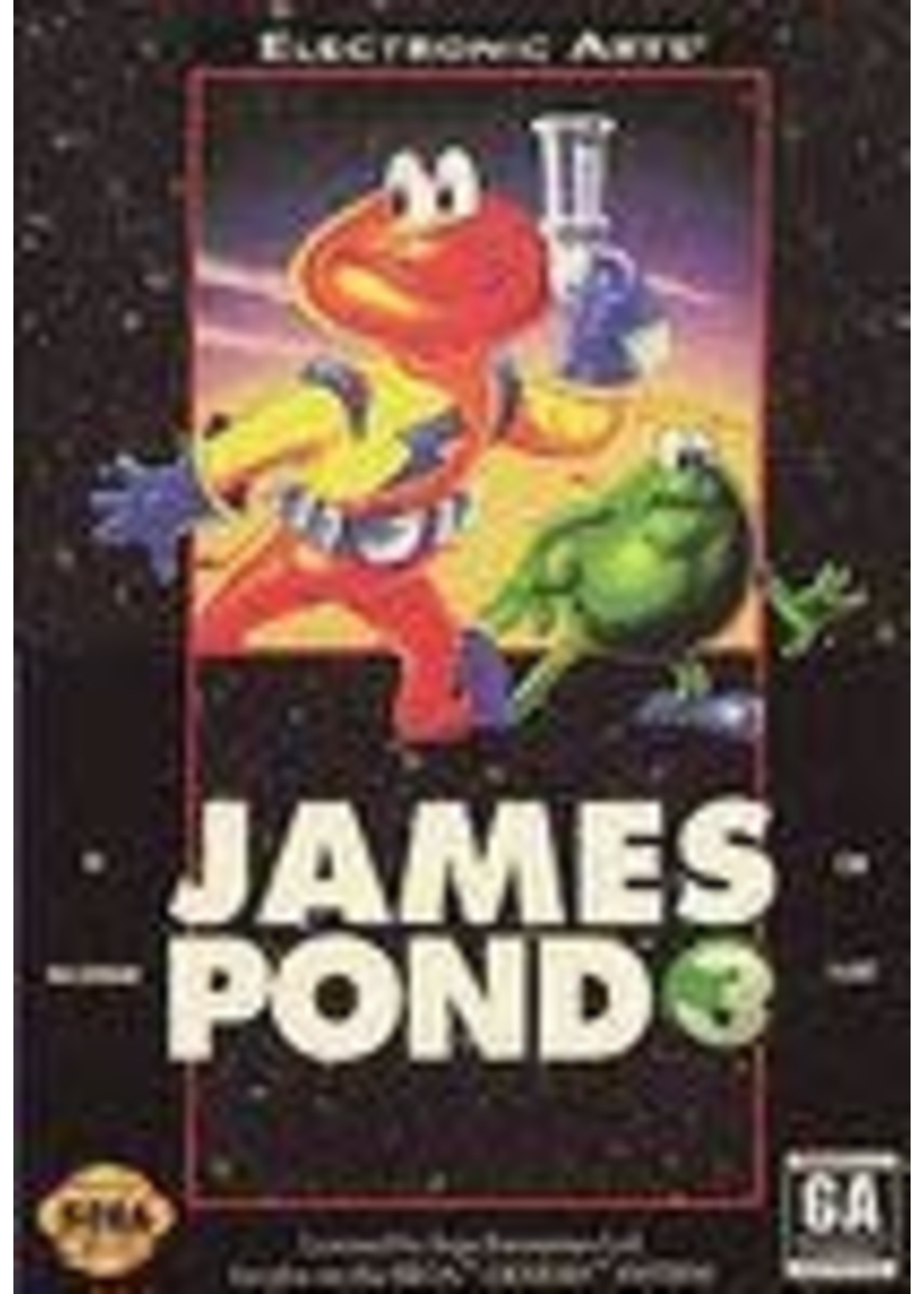 James Pond 3 Operation Starfish Sega Genesis