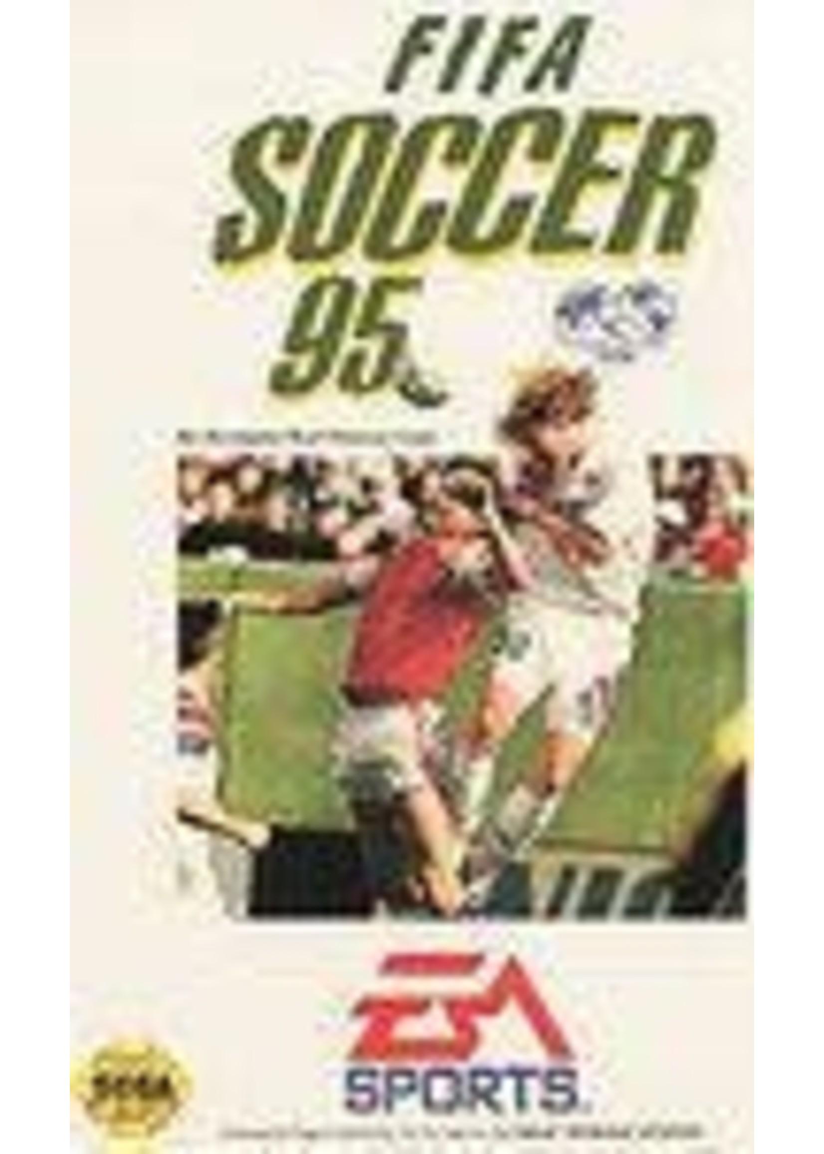 FIFA 95 Sega Genesis