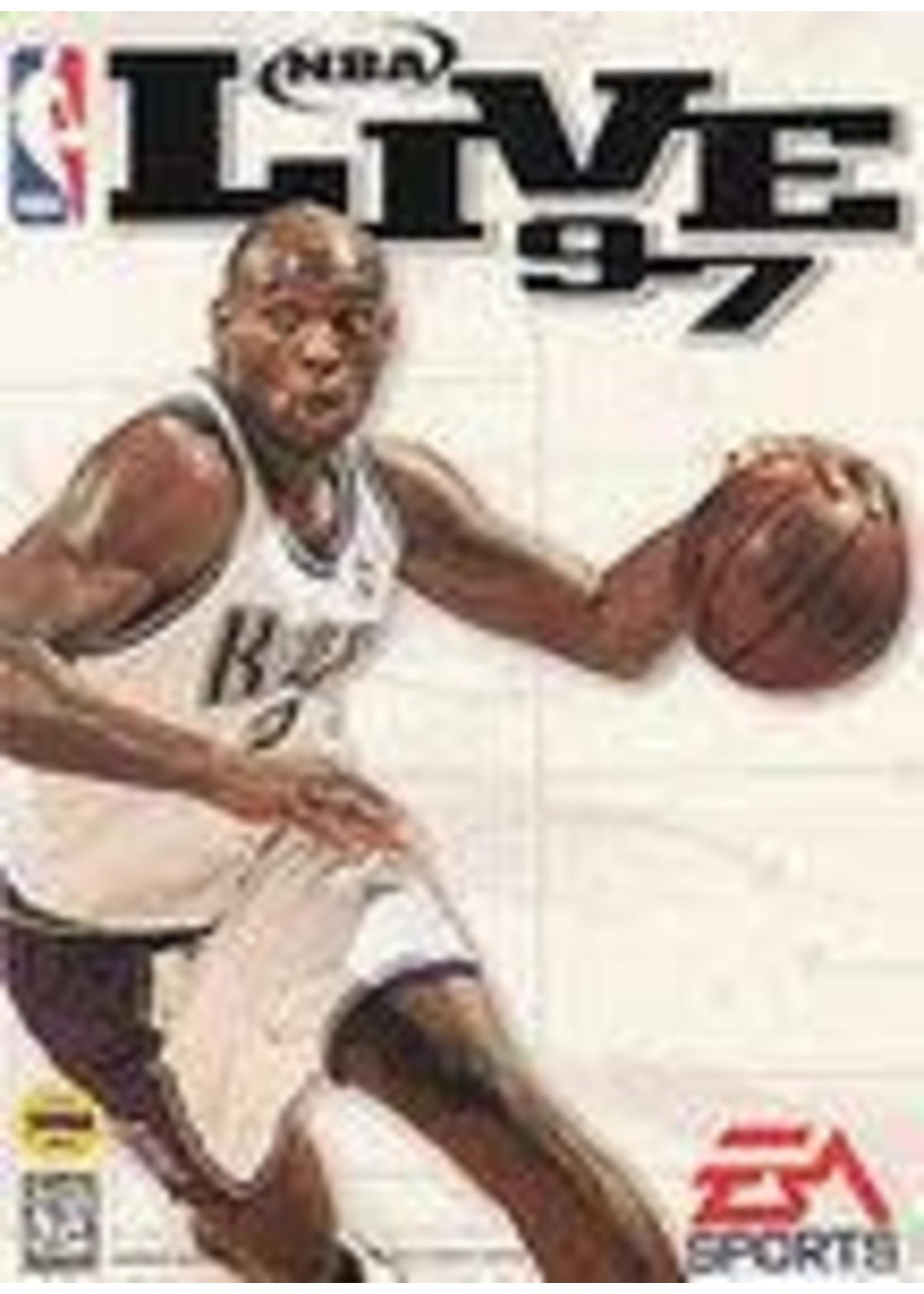 NBA Live 97 Sega Genesis